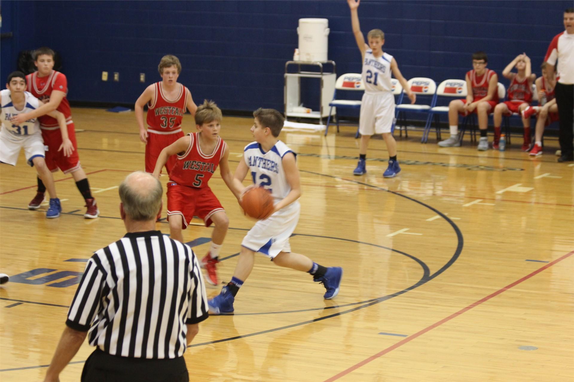 7th Grade Boys vs Westfall