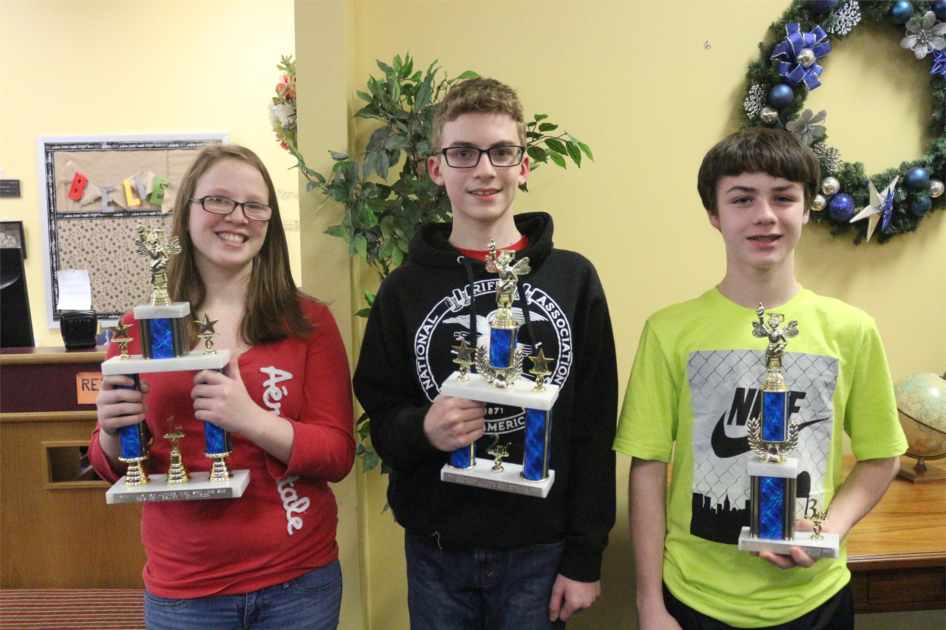 7th Grade Winners