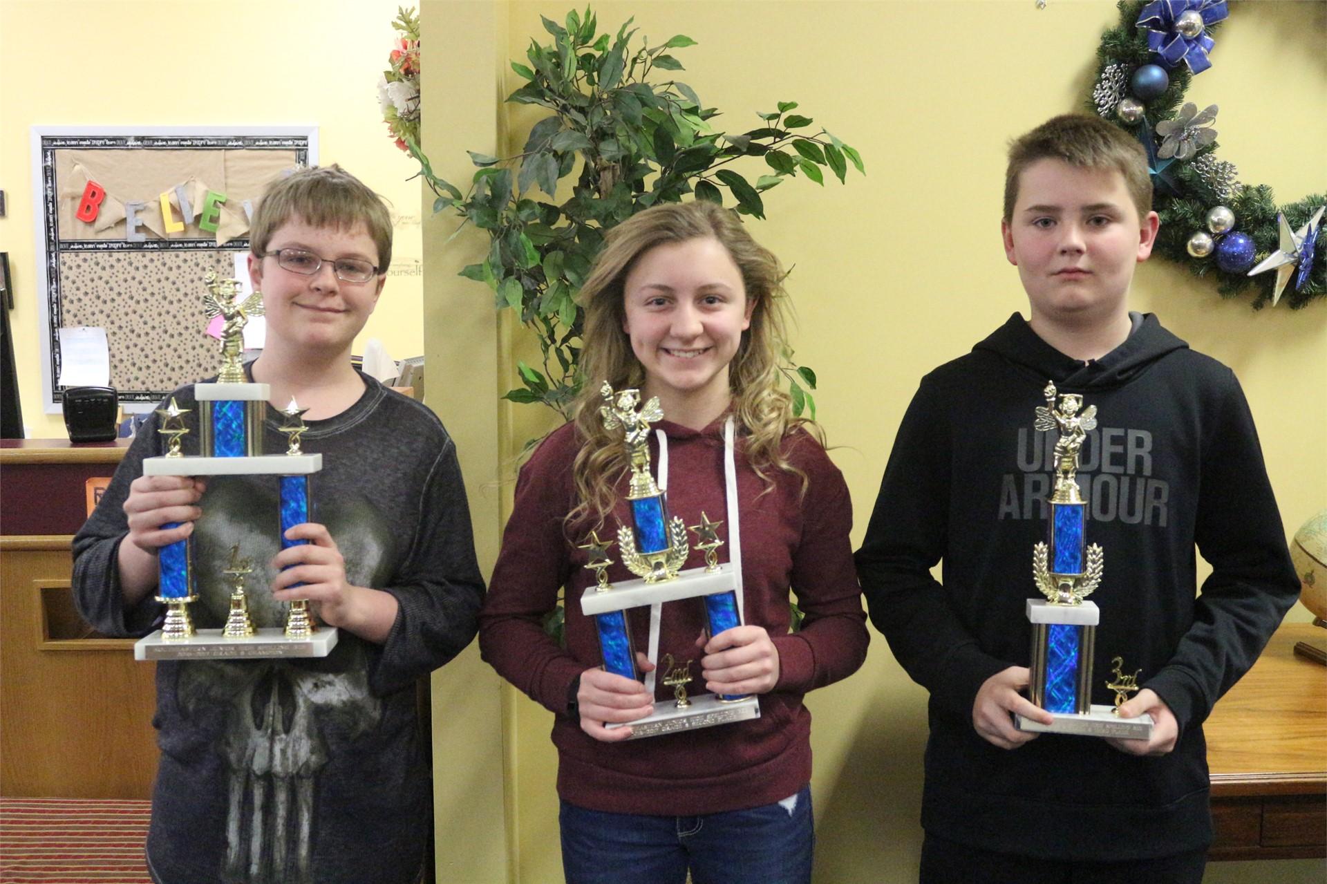 8th Grader Winners