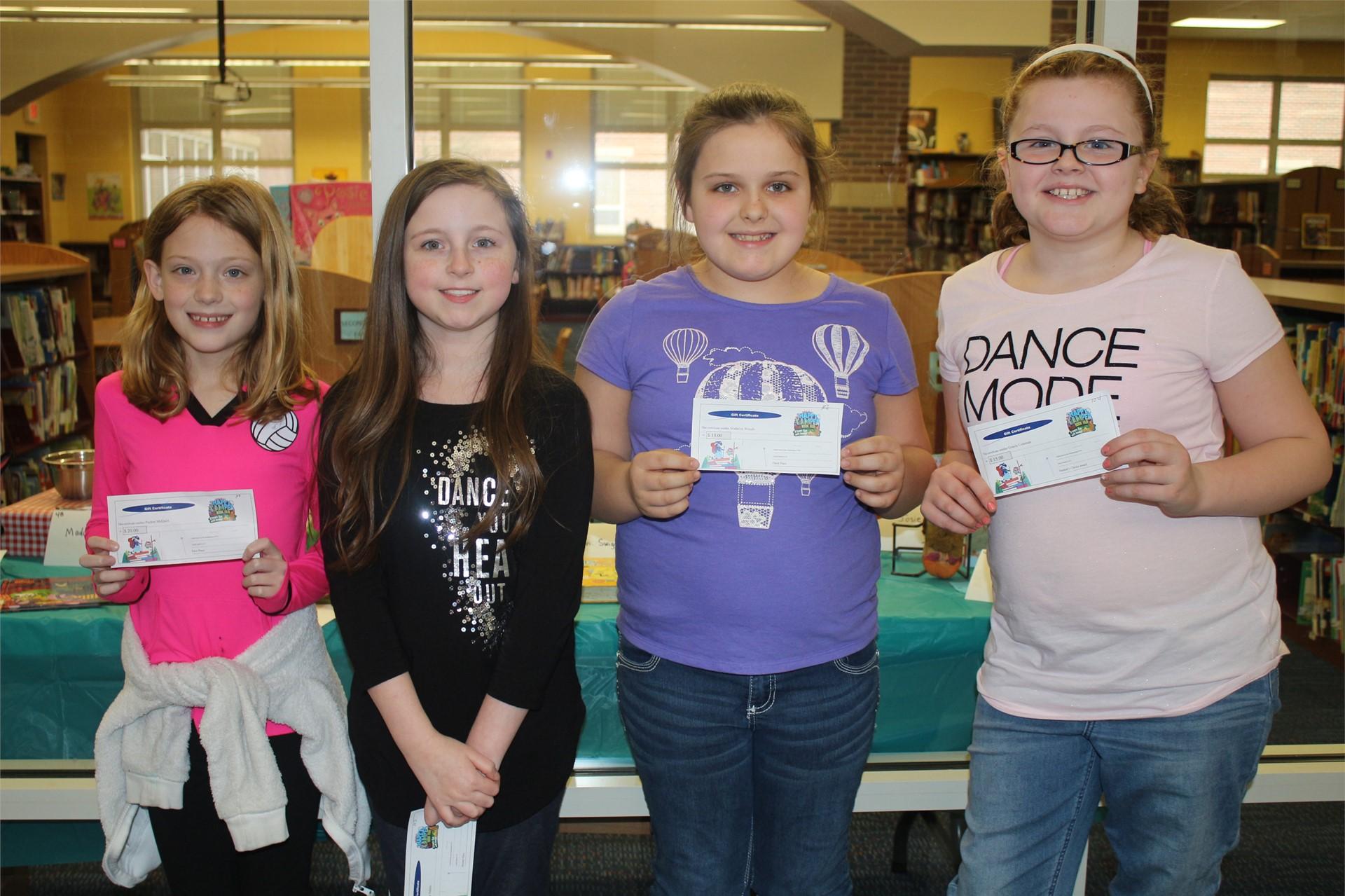 Fourth Grade Award Winners