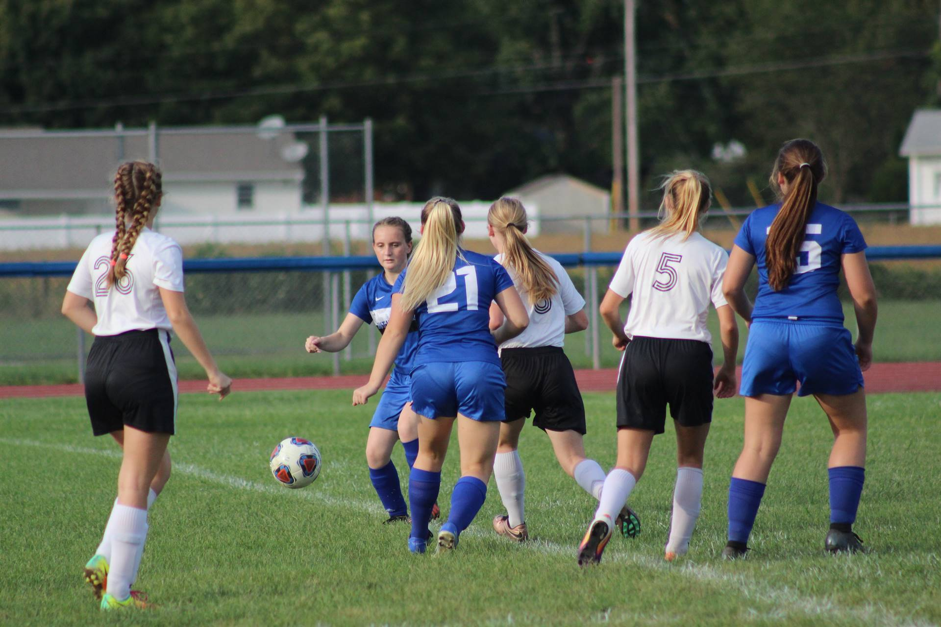 SE Girls Soccer vs Portsmouth West