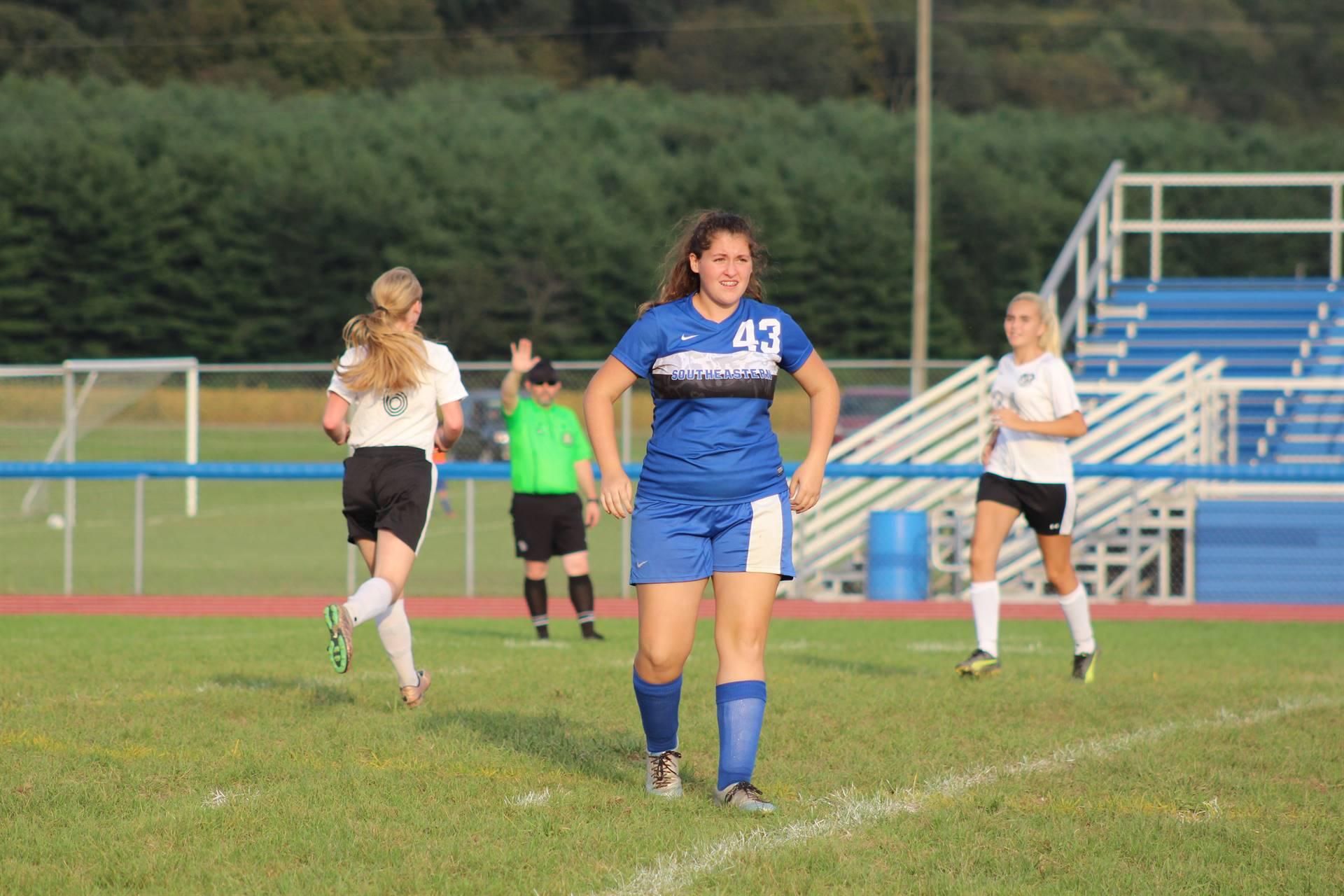 SE Girls Soccer vs Portsmouth West