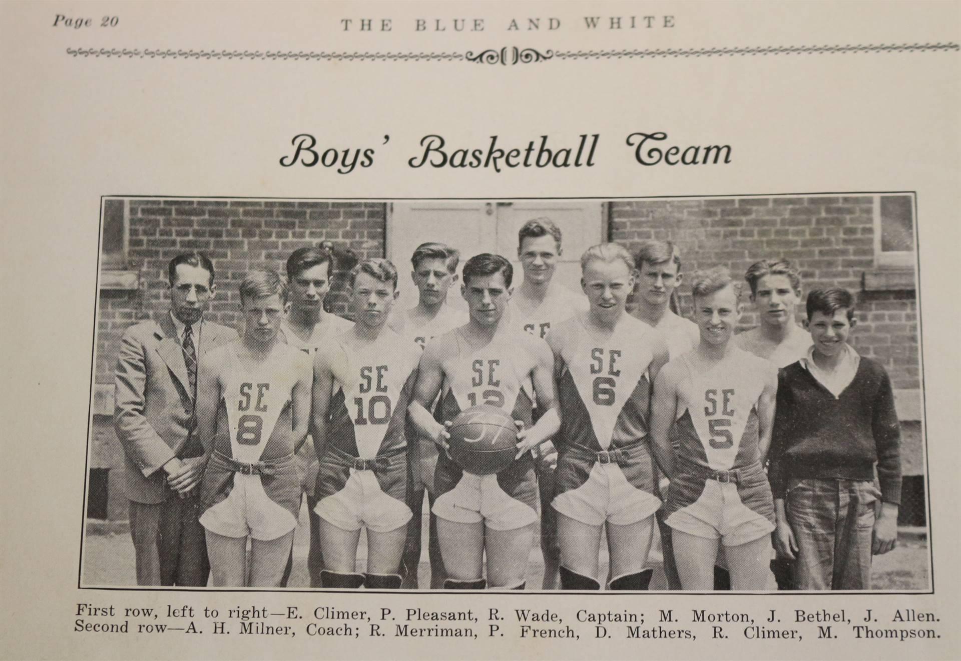 1937 Basketball