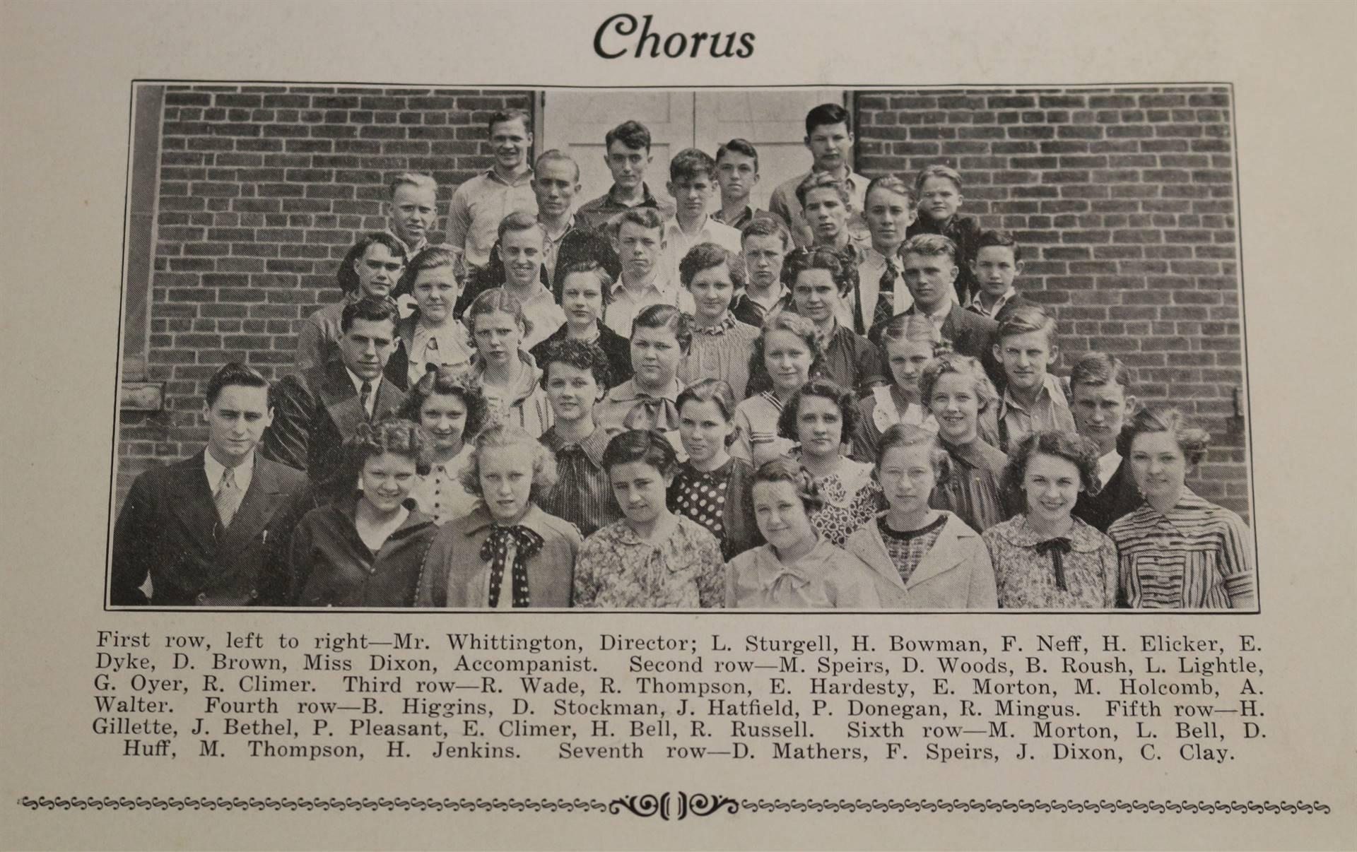 1937 Chorus