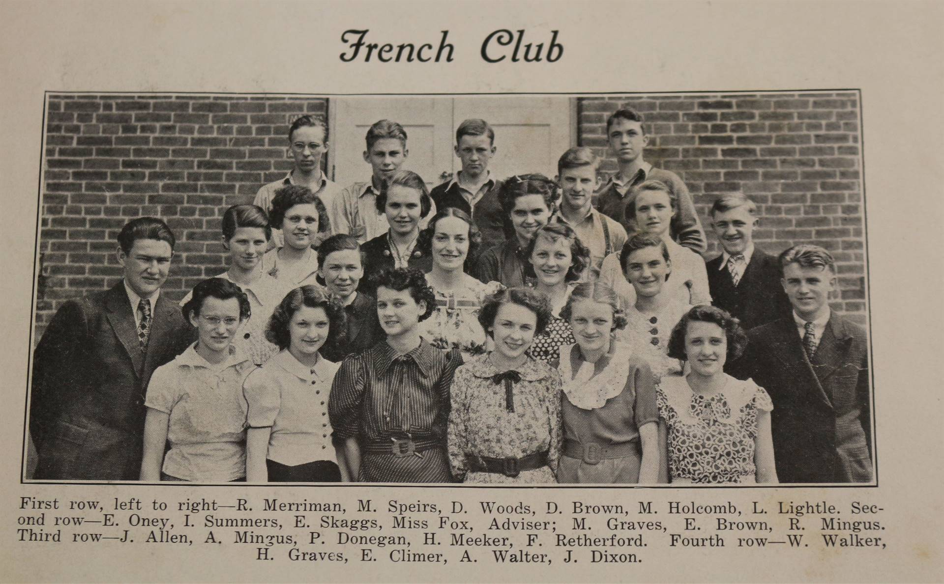 1937 French Club