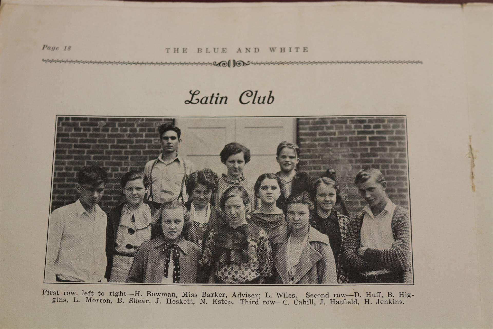 1937 Latin club