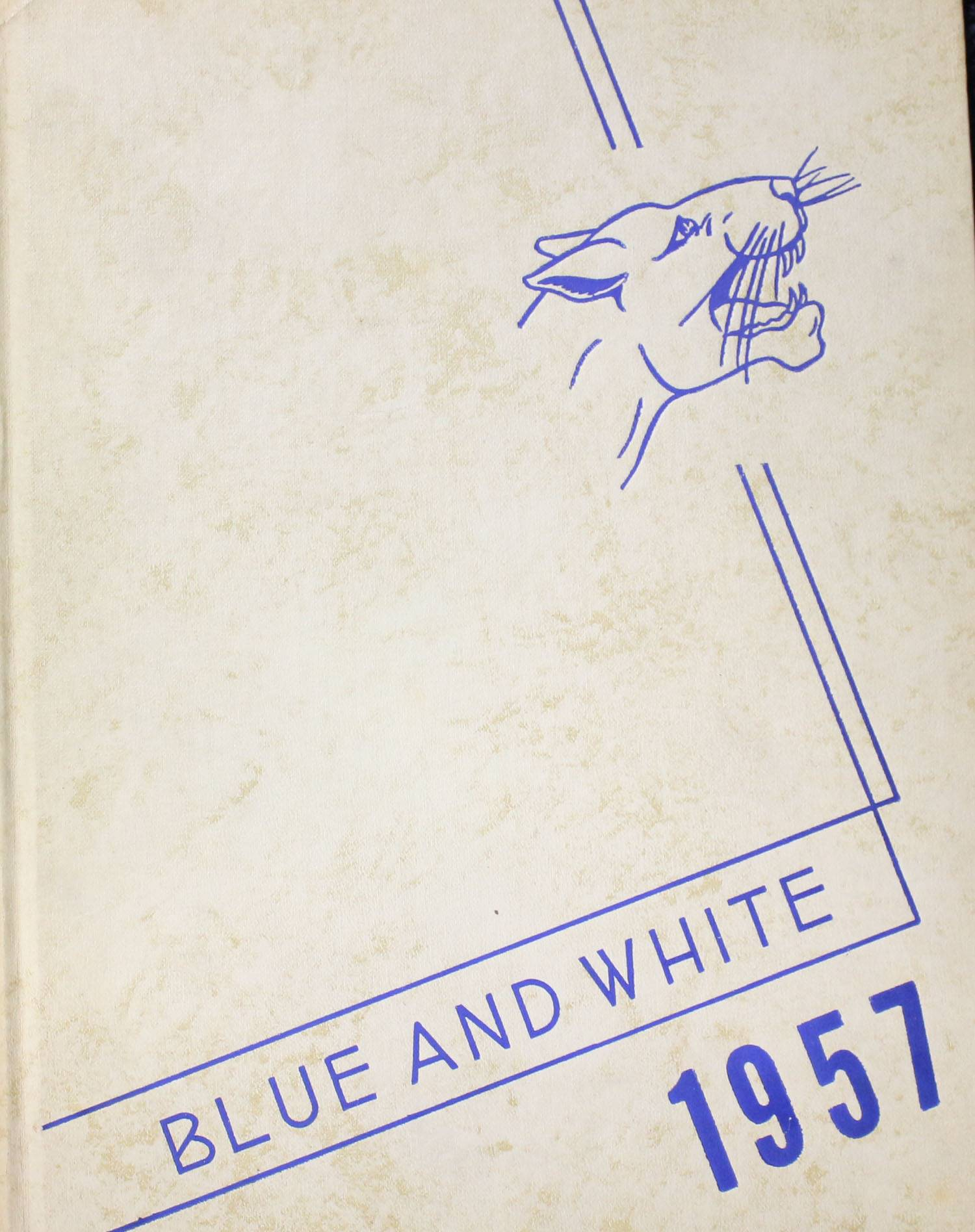 1957 Yearbook cover page