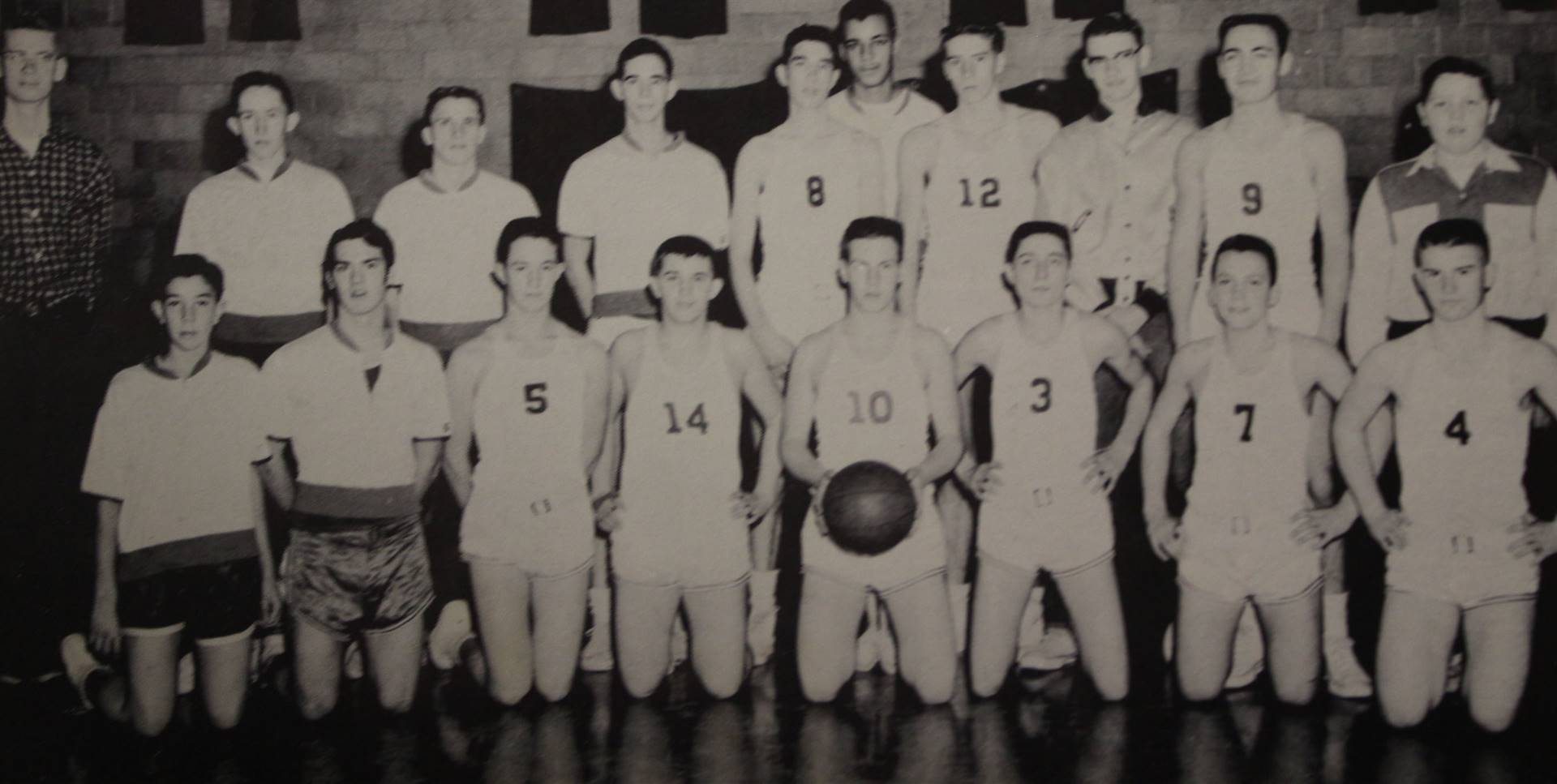 1957 Basketball Reserve