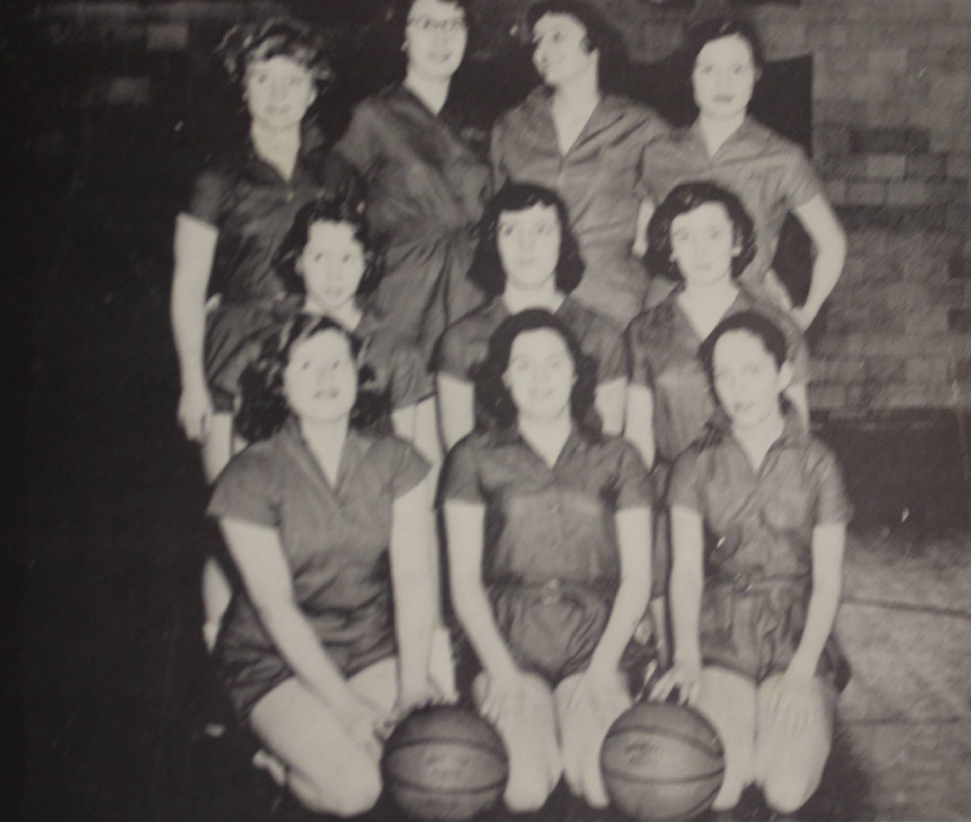 1957 Girls Basketball Champions