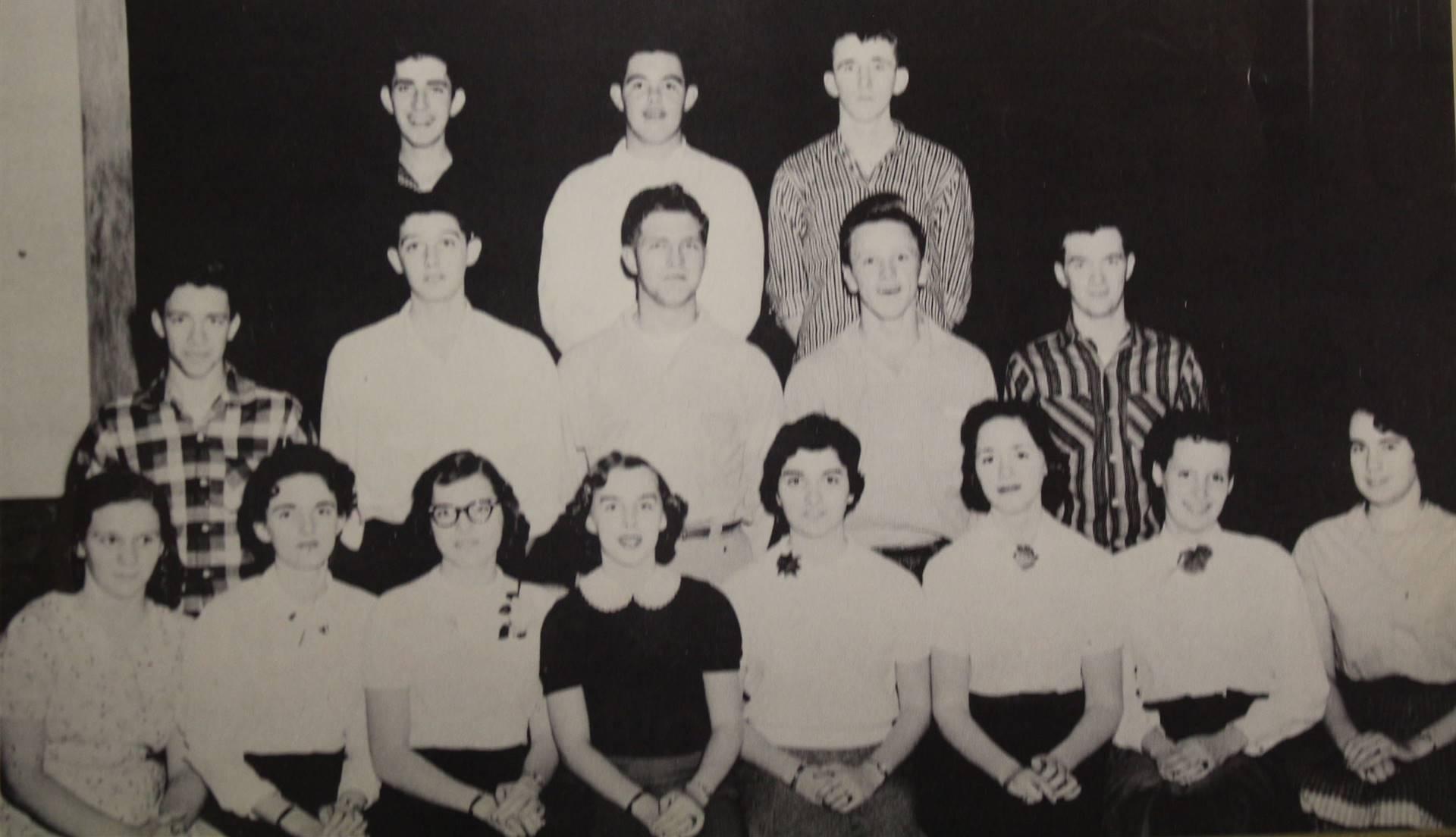 1957 Play Cast