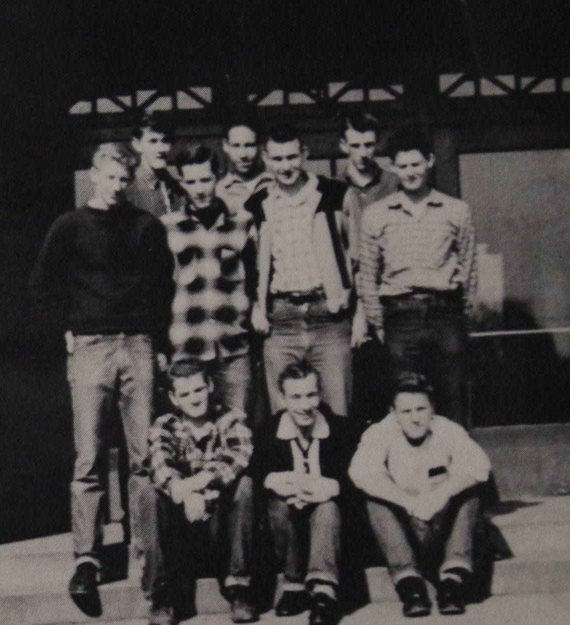 1957 Senior Class Tournment Winners