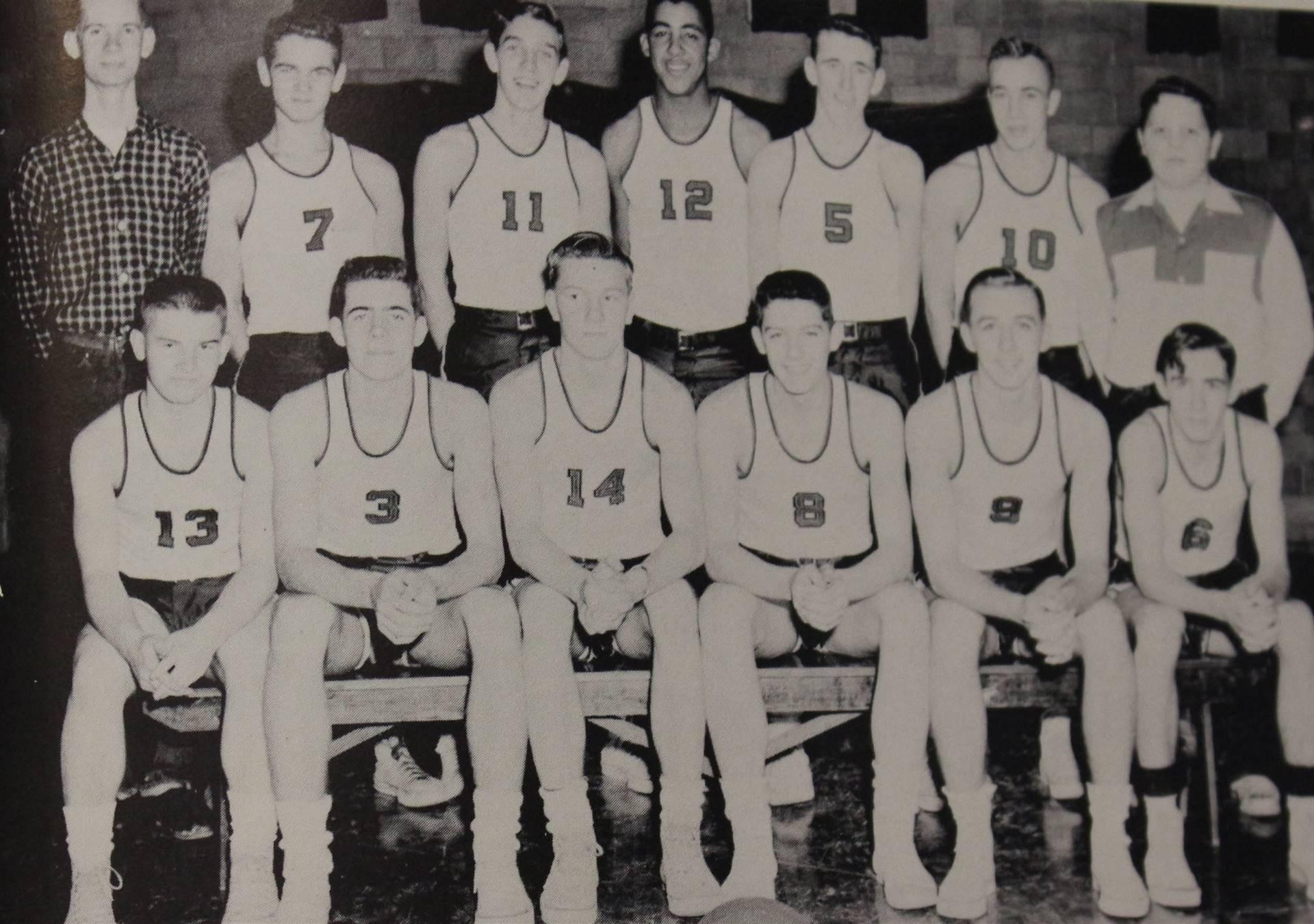 1957 Varsity Basketball