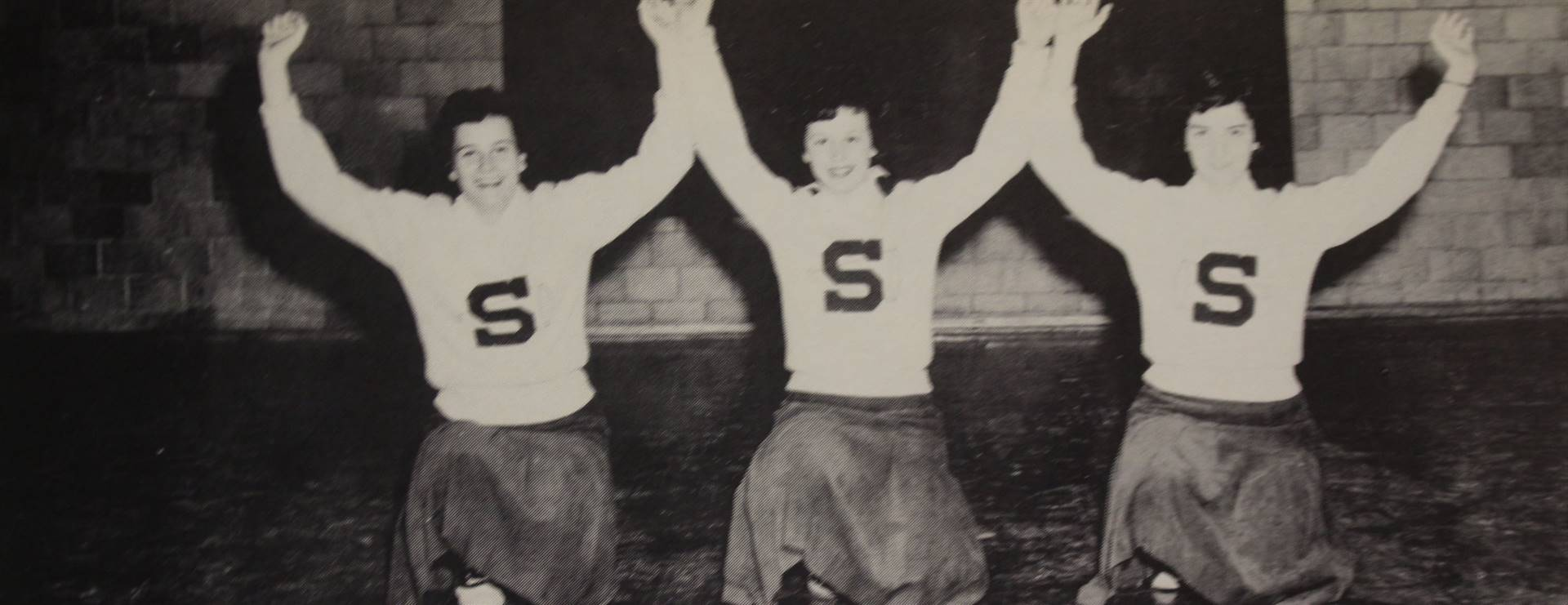 1957 Varsity Reserve Cheerleaders
