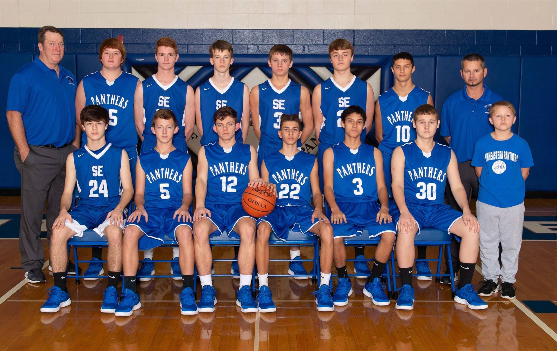 Junior Varsity Basketball Team