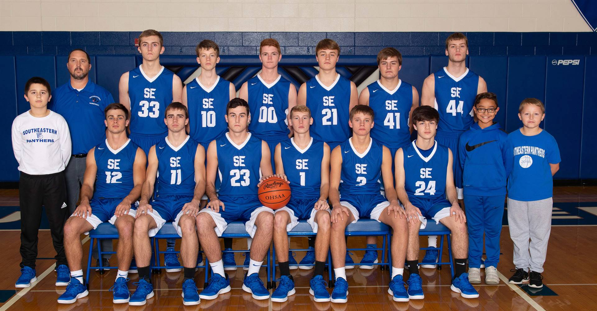Varsity Boys Basketball team