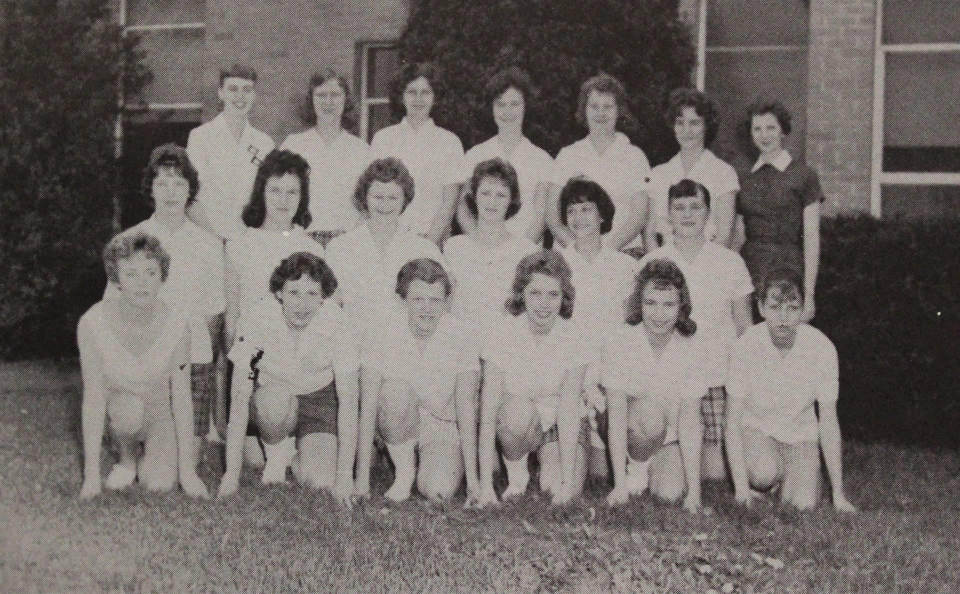 1960 Girls' Track