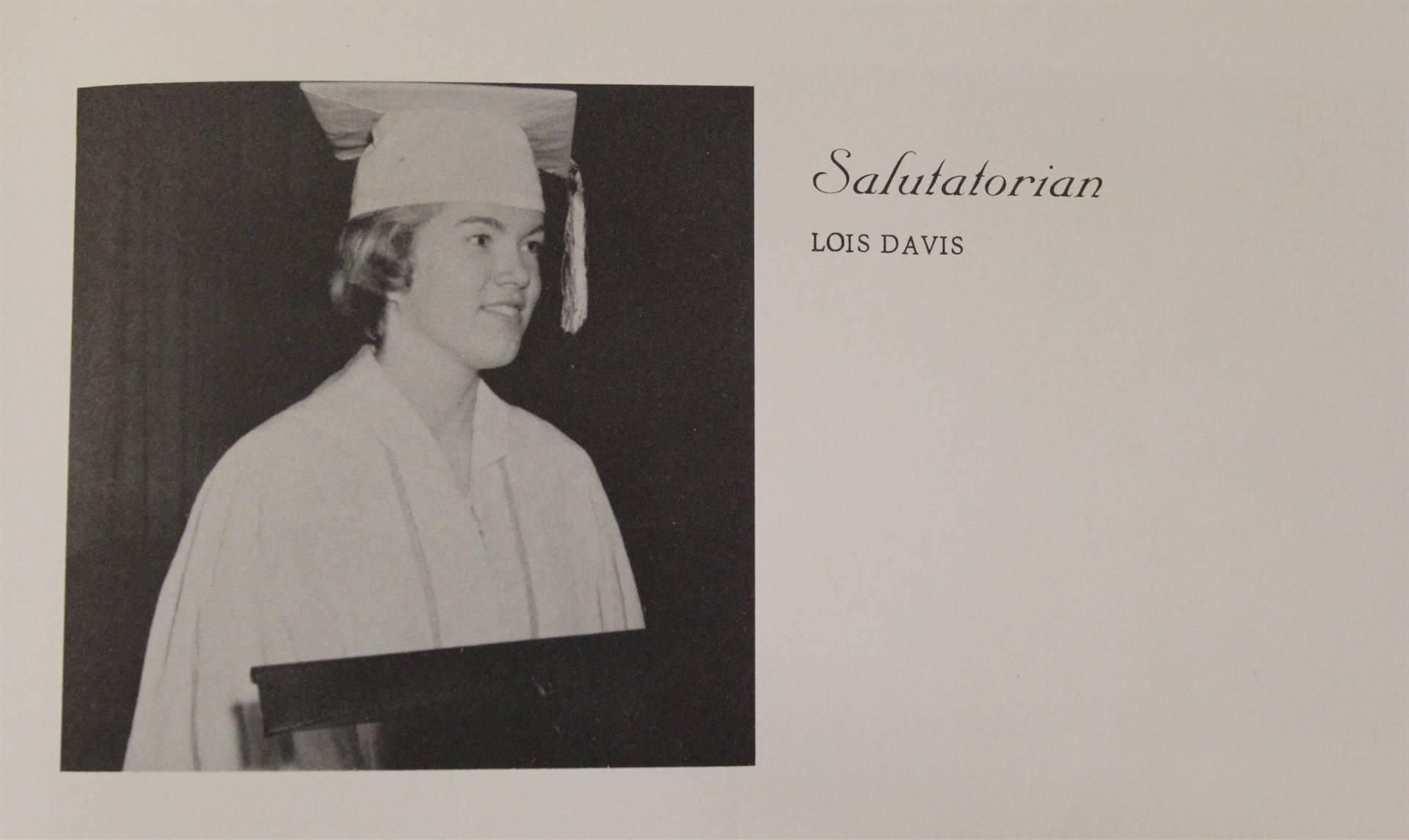 1960 Salutatorian