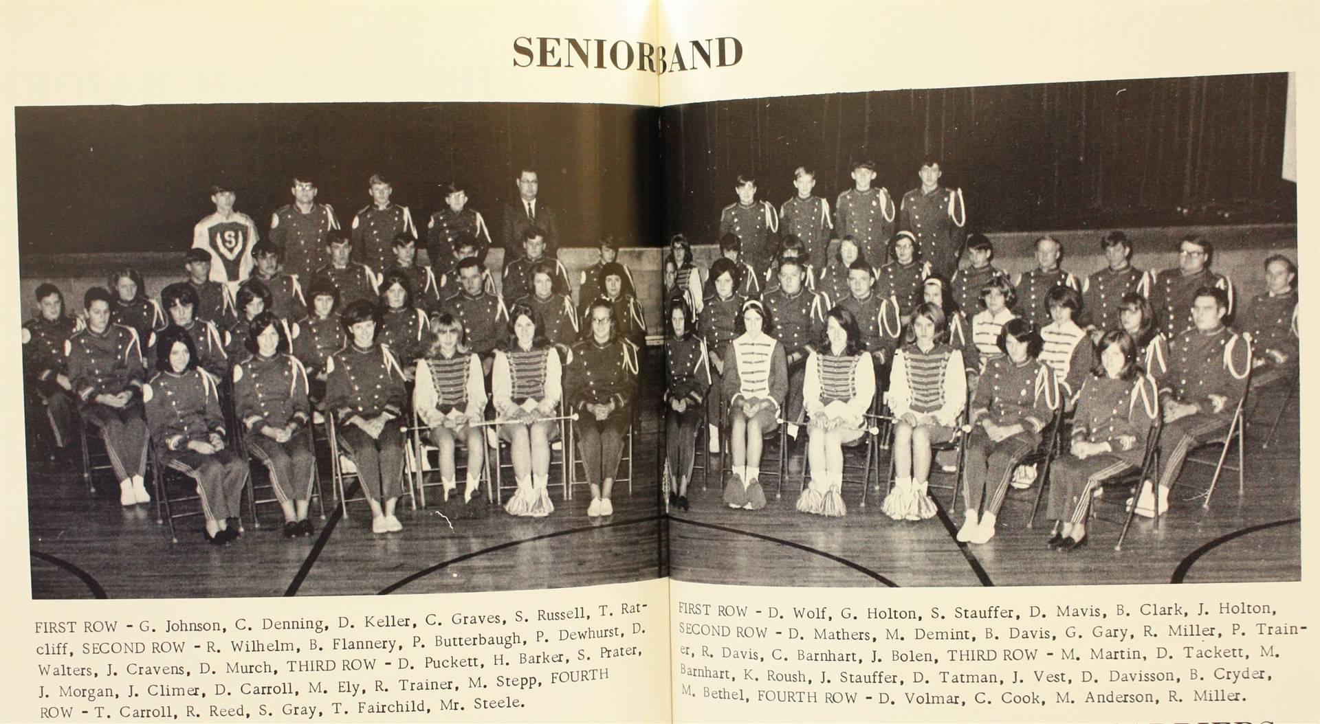 1969 Senior Band