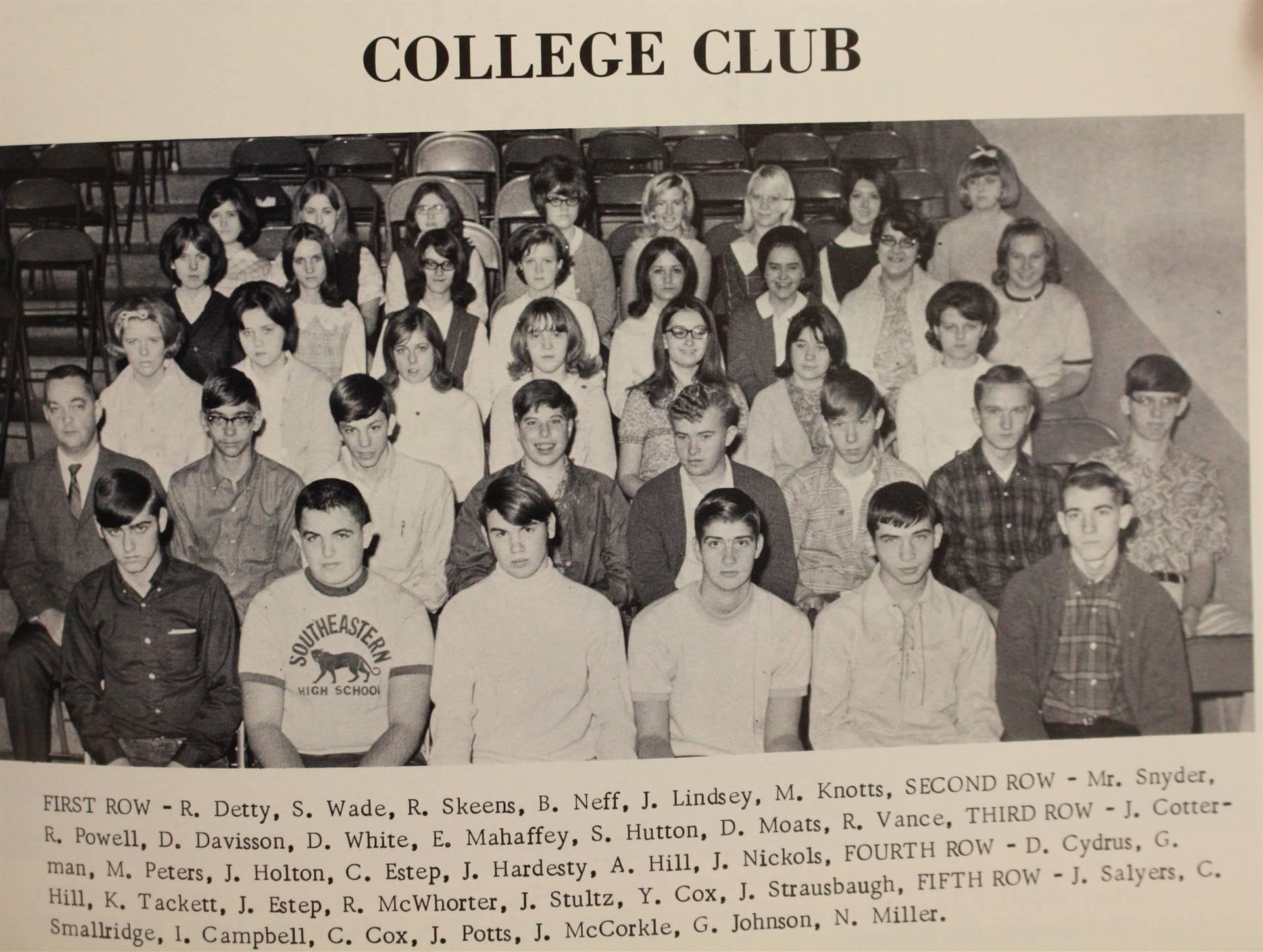 1969 College Club