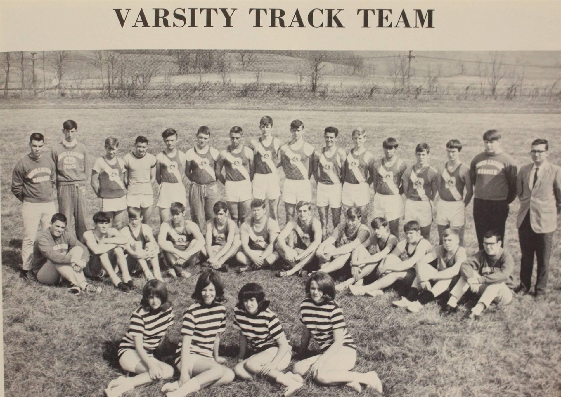 1969 Varsity Track Team