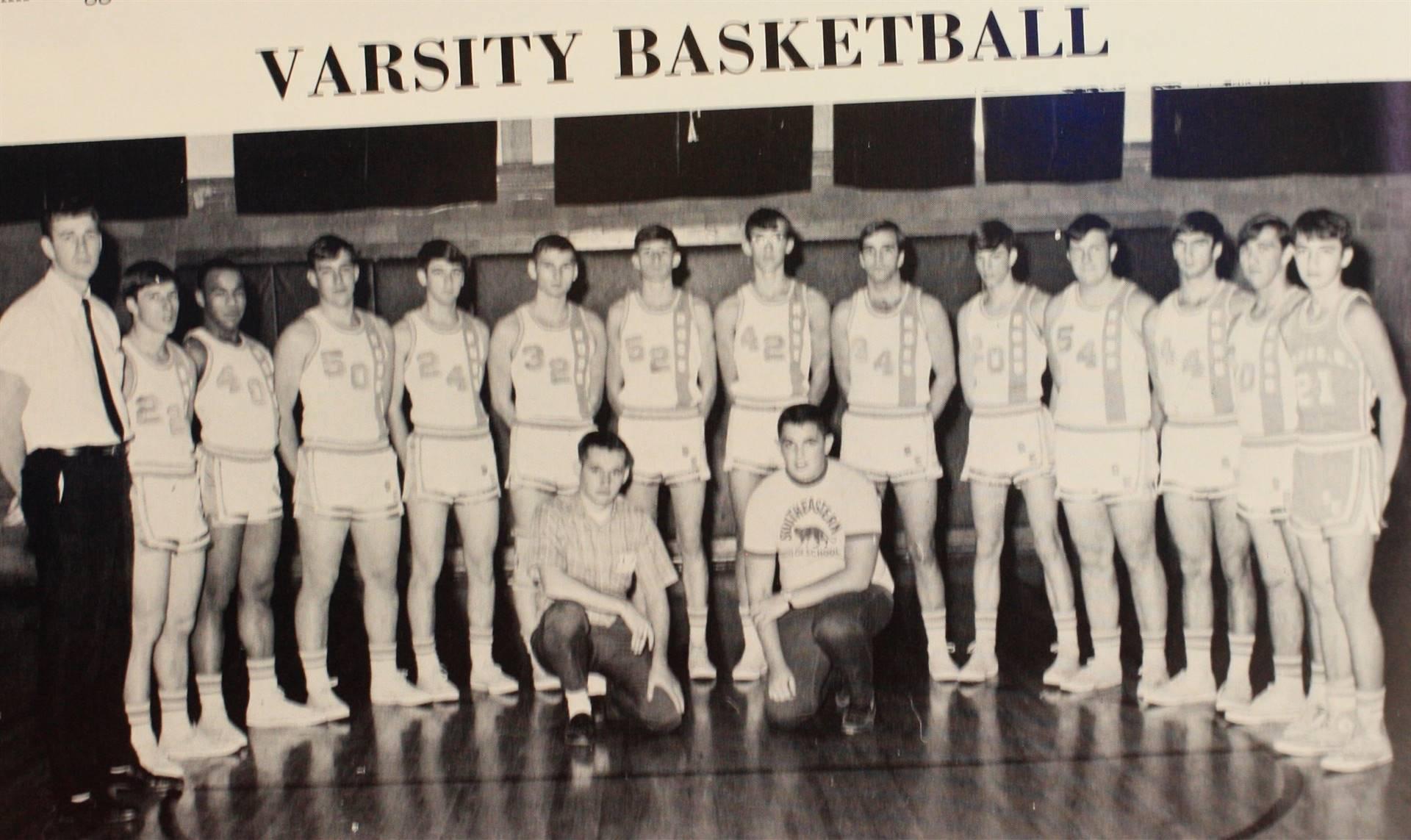 1969 Varsity Basketball