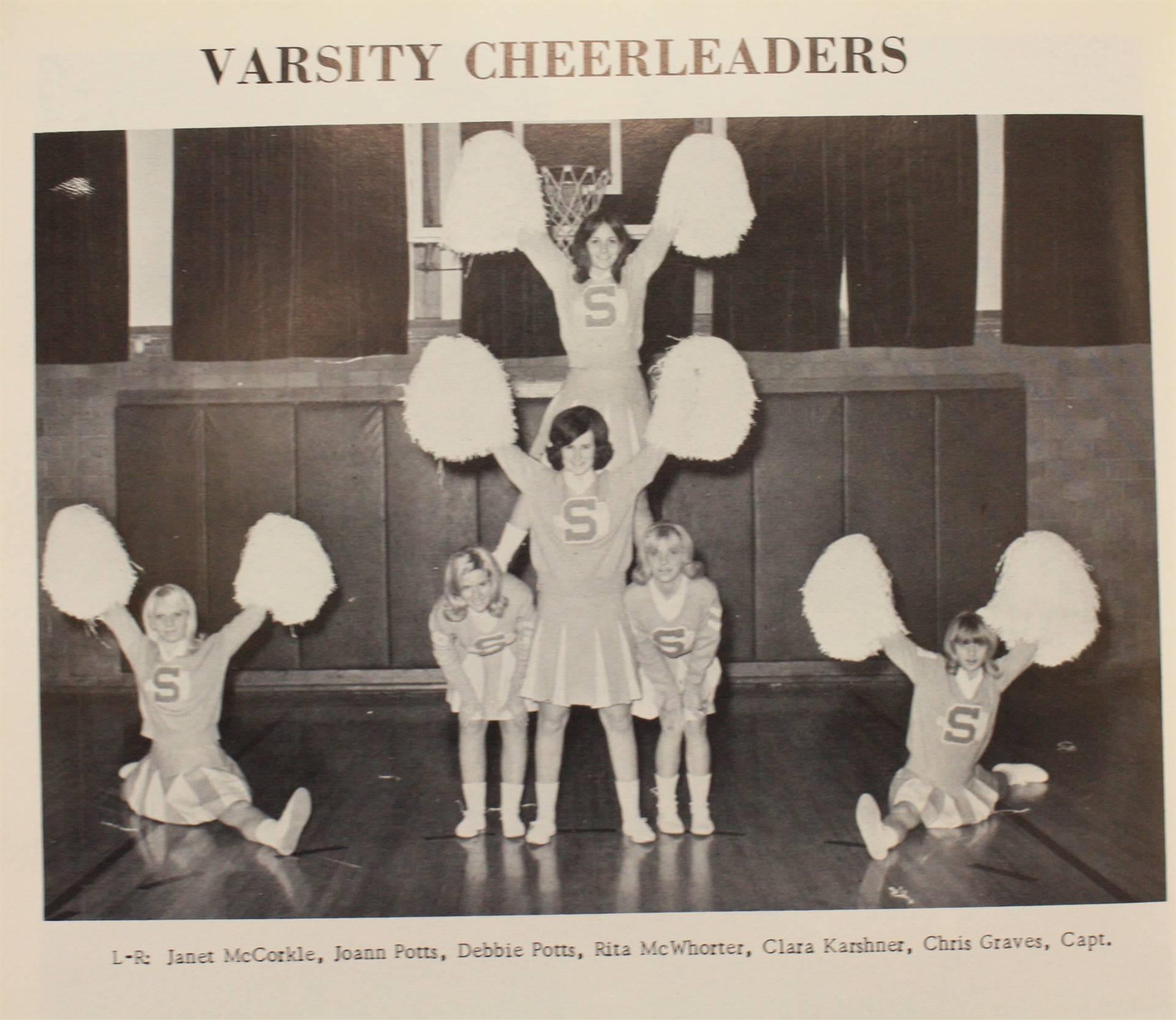 1969 Varsity Cheerleading