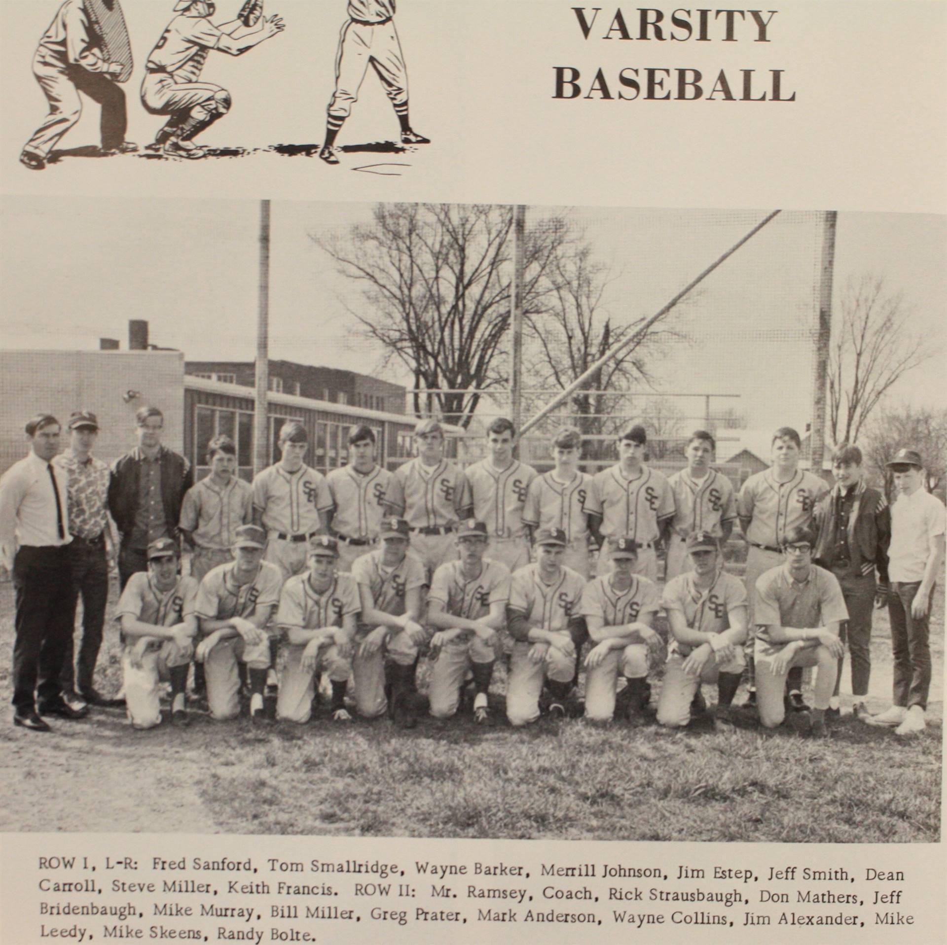 1969 Varsity Baseball