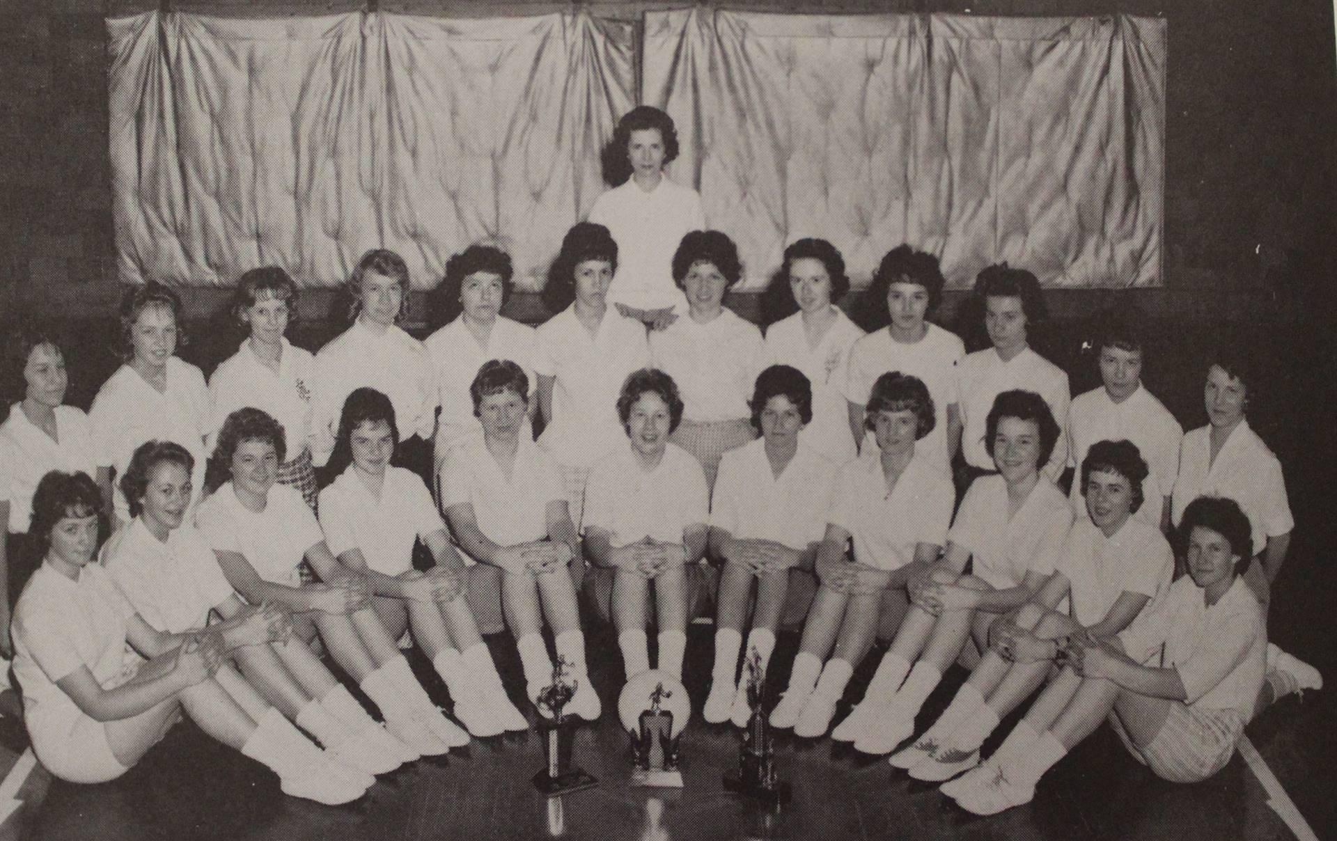 1962 Girls Volleyball