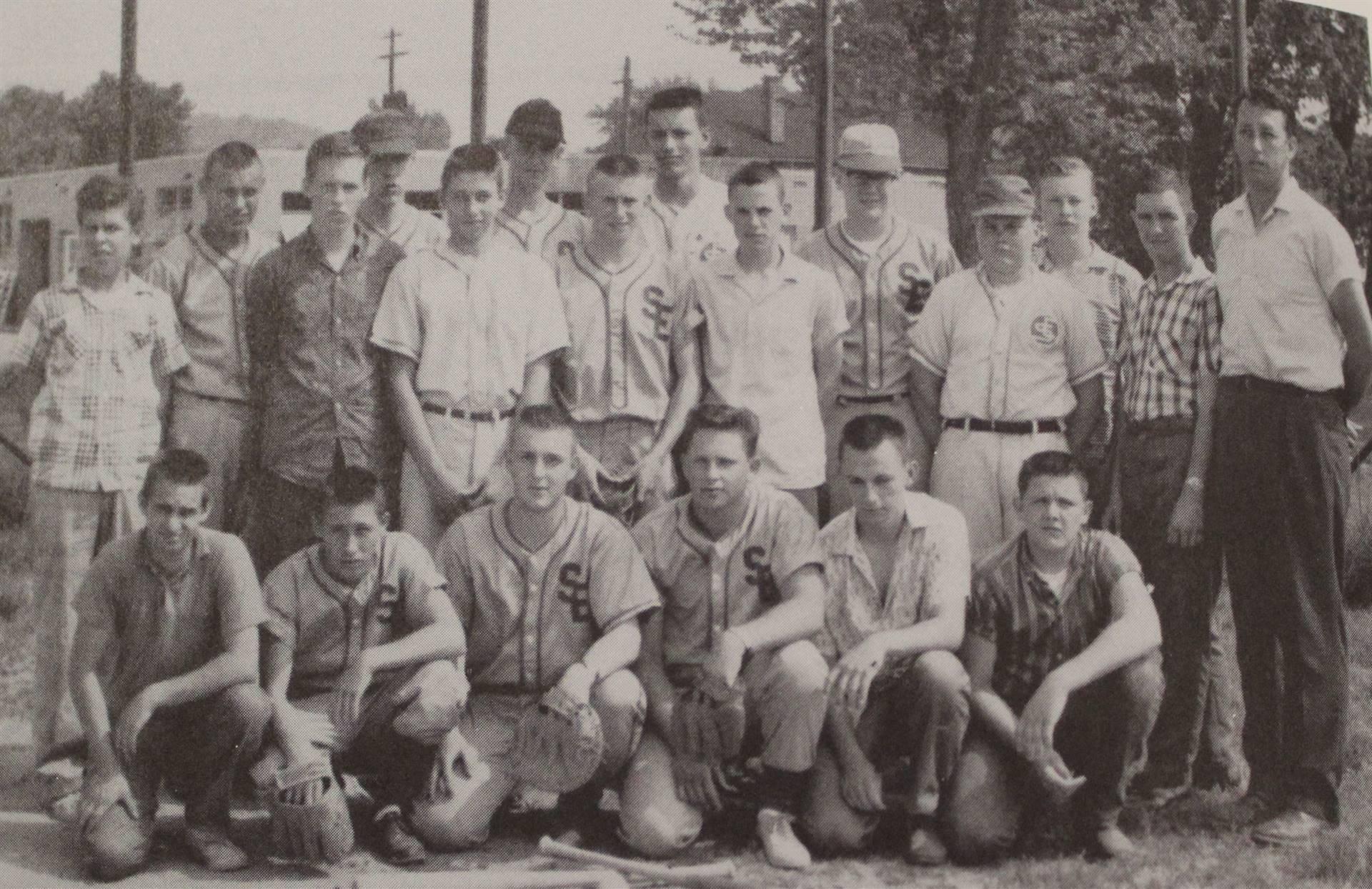 1962 Senior Varsity Baseball Team