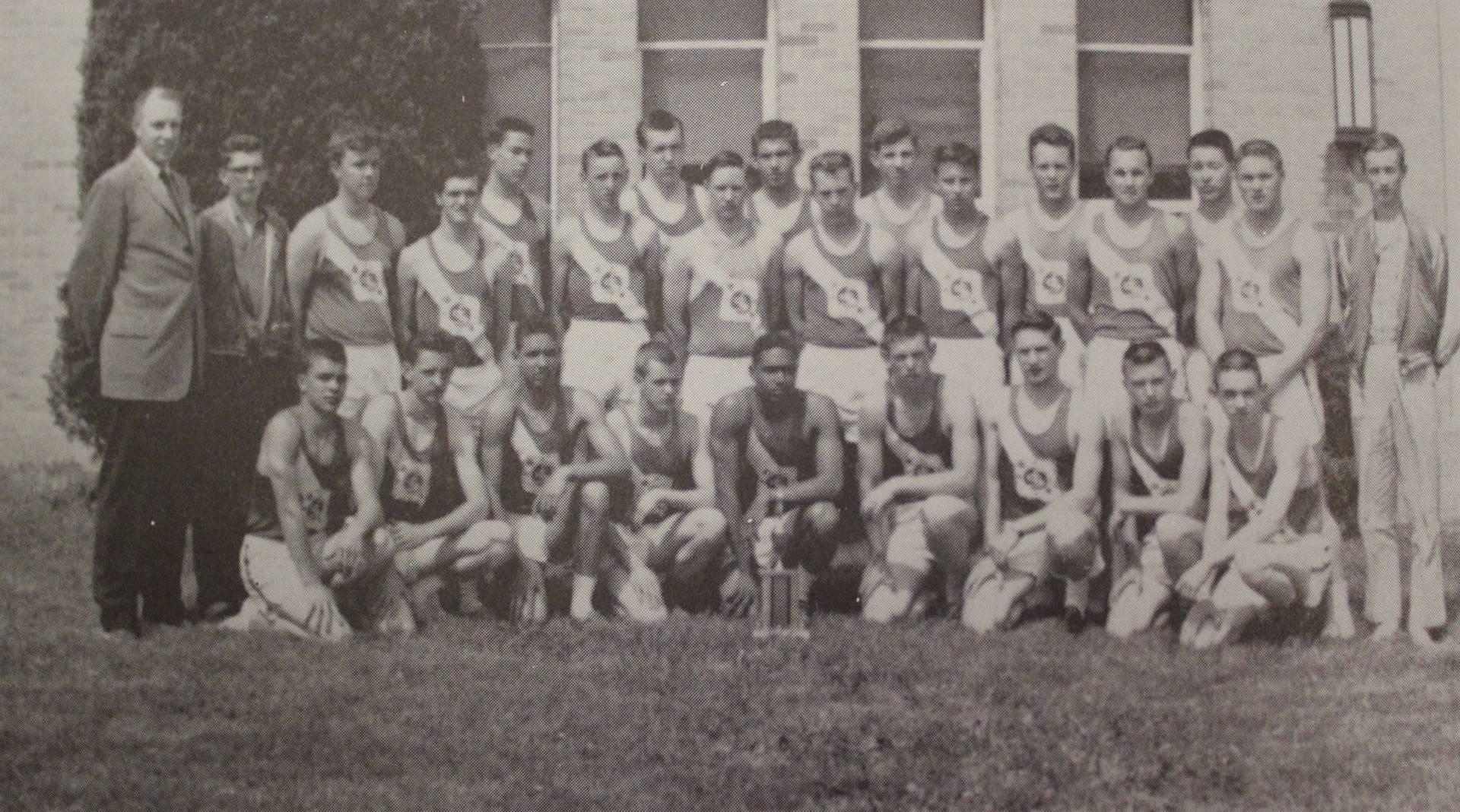 1962 senior Boys Track