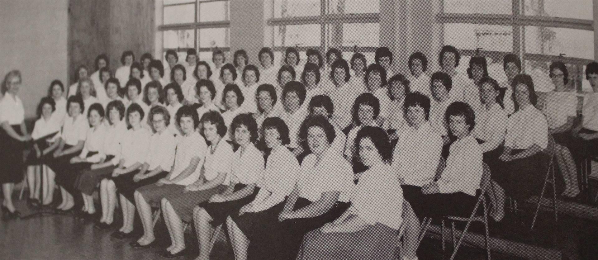1962 Senior Girls Choir