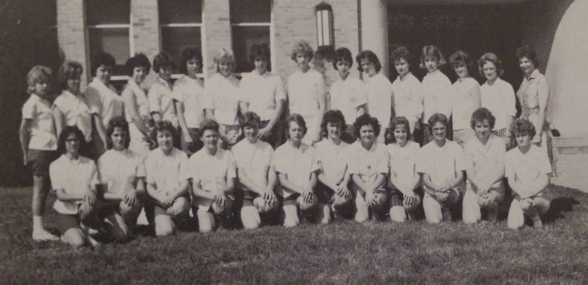 1962 Senior Girls Track
