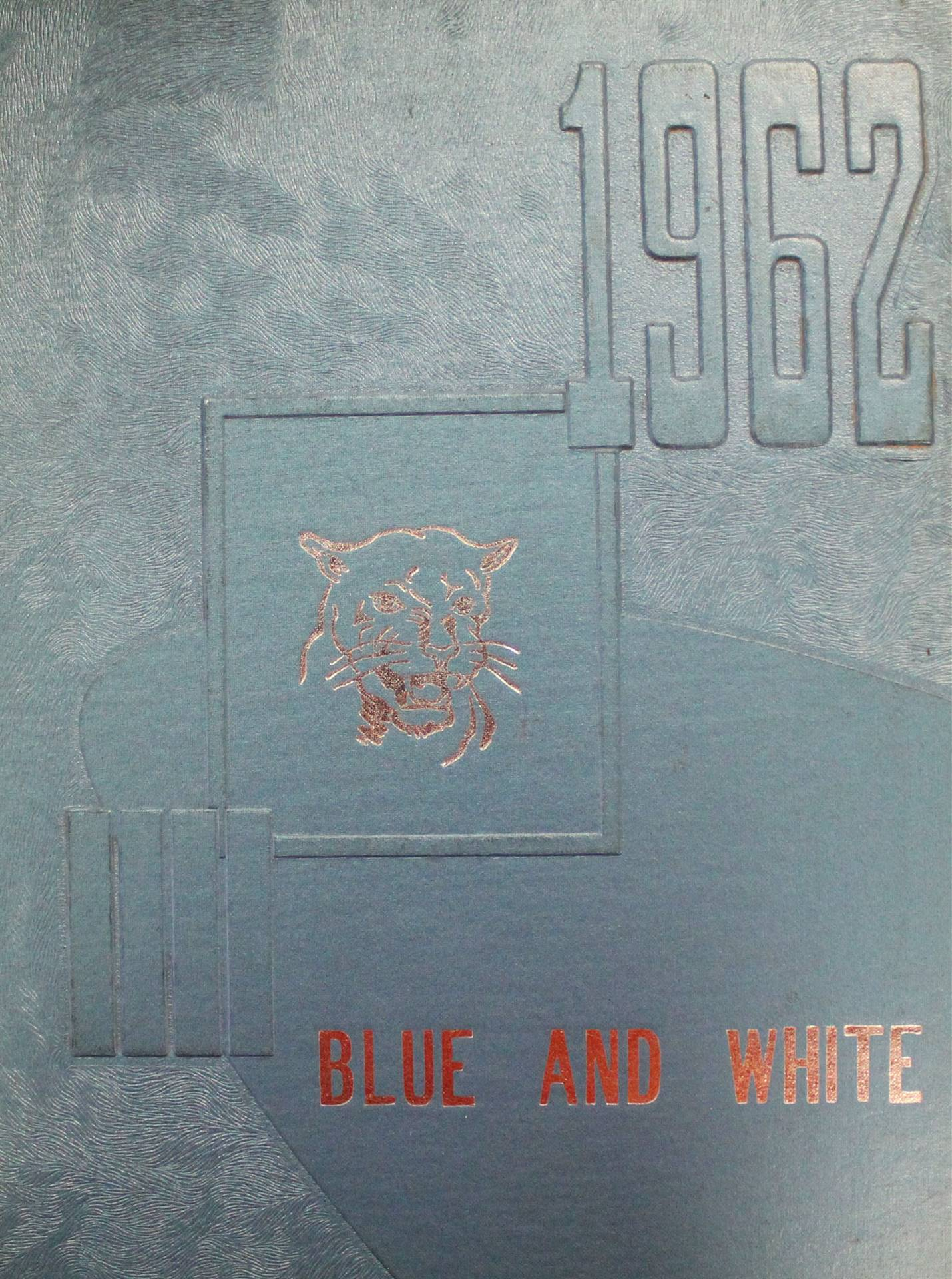 1962 Yearbook Cover Page