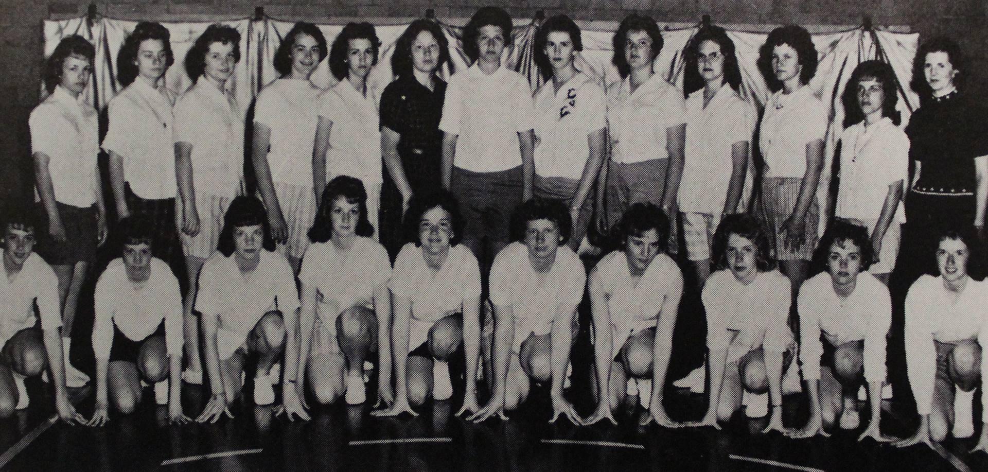 1961 Girls' Track