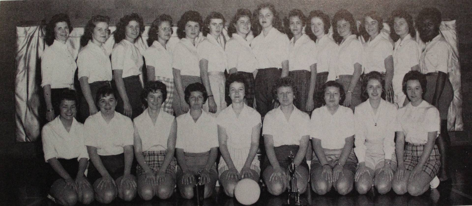 1961 Girls' Volleyball