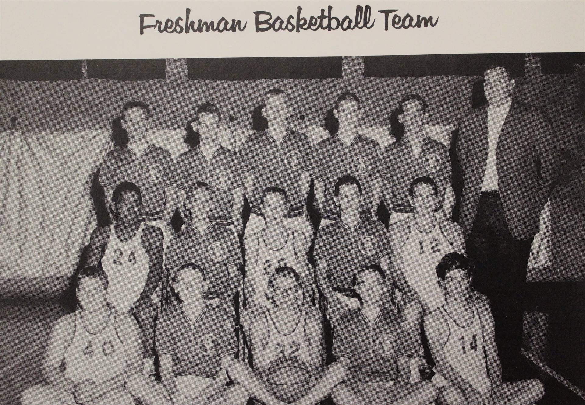 1964 Freshman Basketball Team