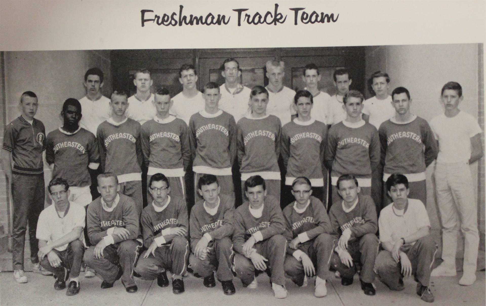 1964 Freshman Track Team