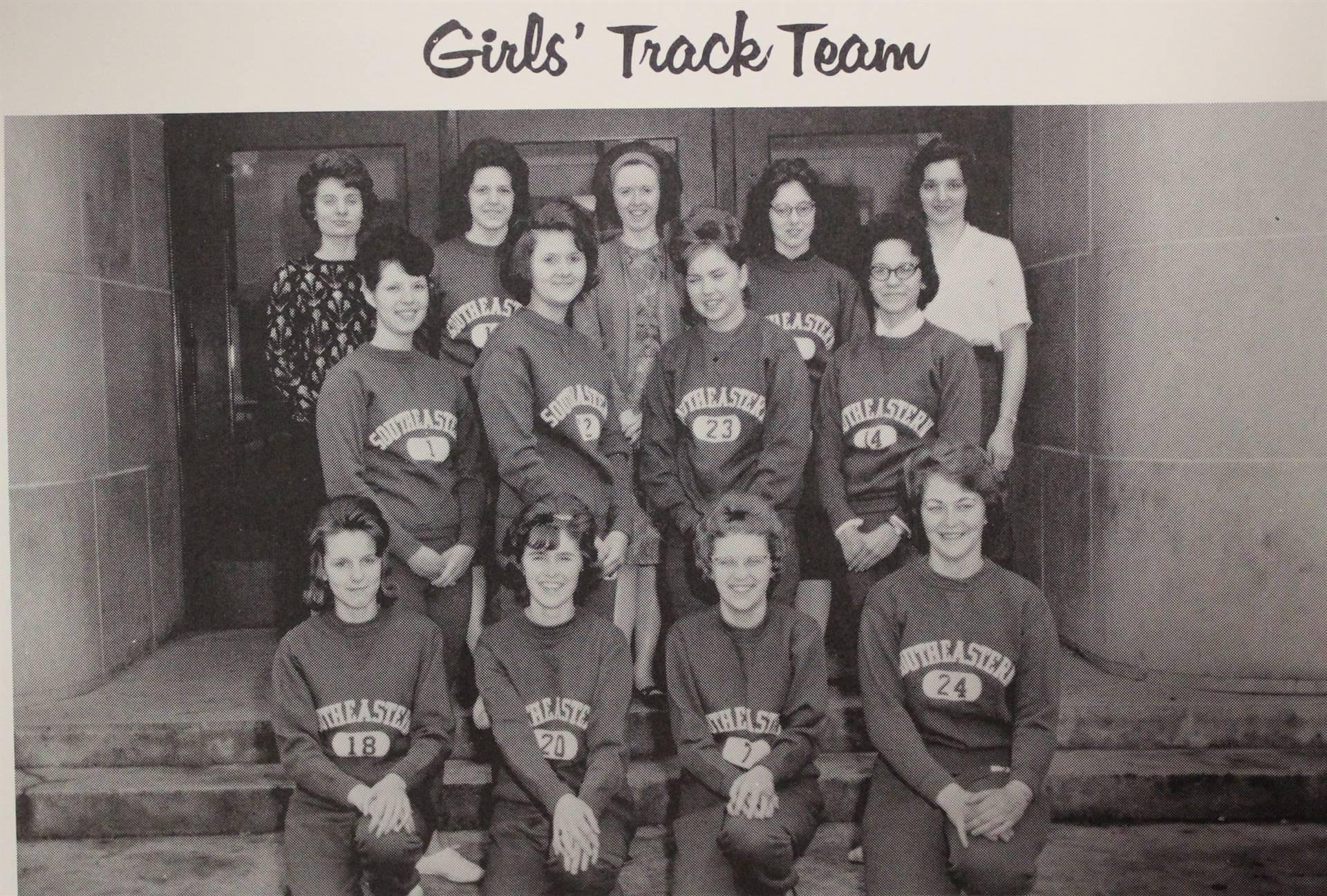 1964 Gir'ls Track Team