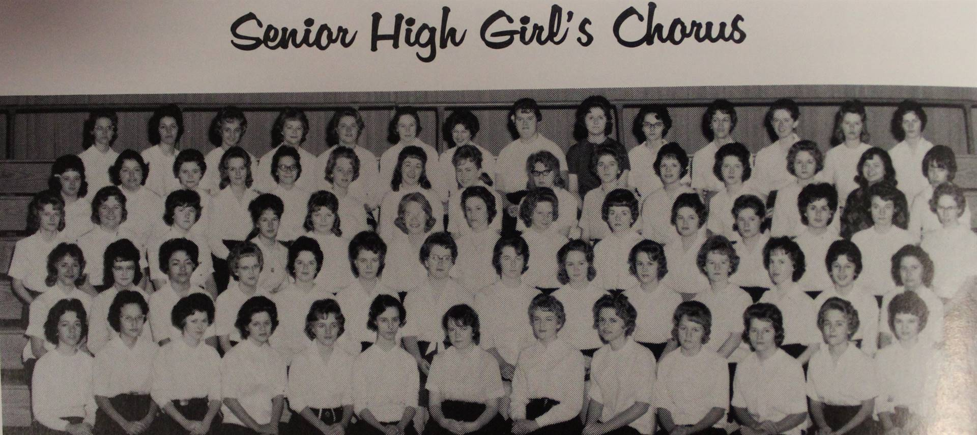 1964 Senior High Girl's Chorus
