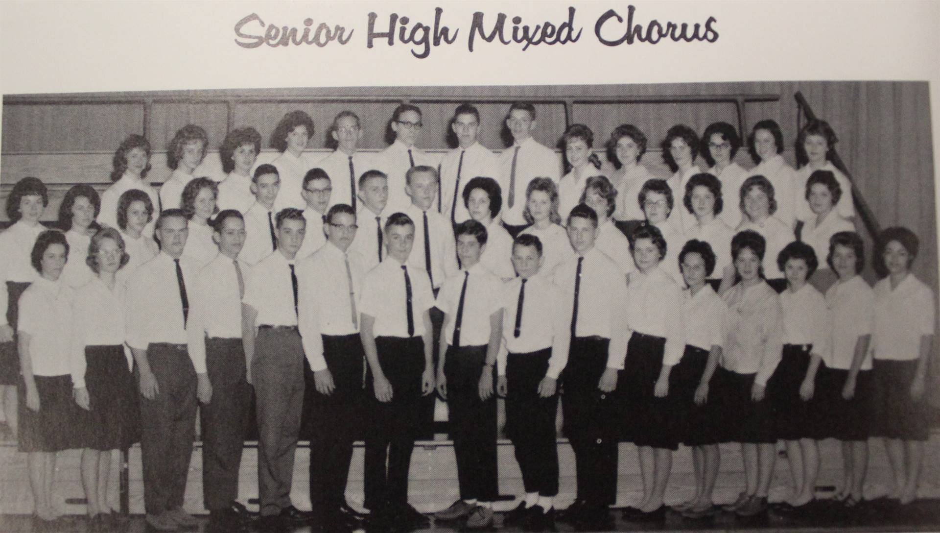 1964 Senior High Mixed Chorus