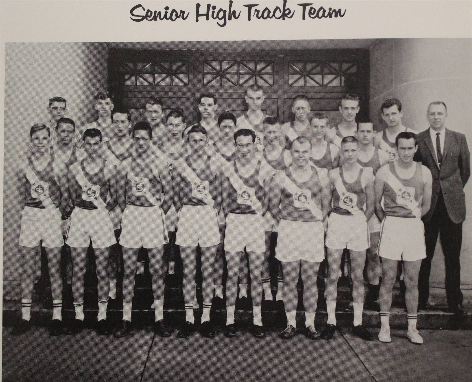 1964 Senior High Track Team