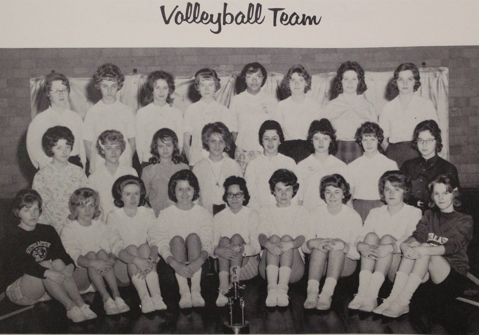 1964 Volleyball Team