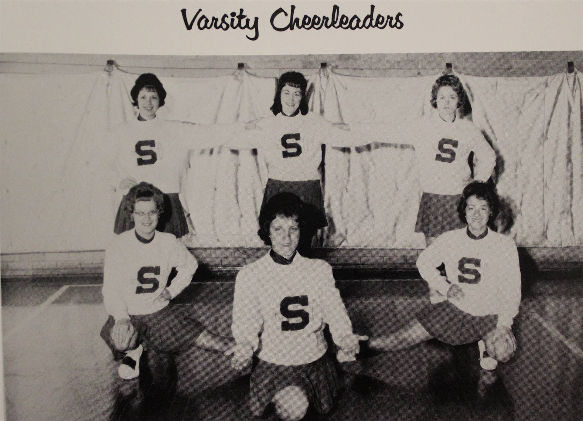 1964 Varsity Cheerleaders
