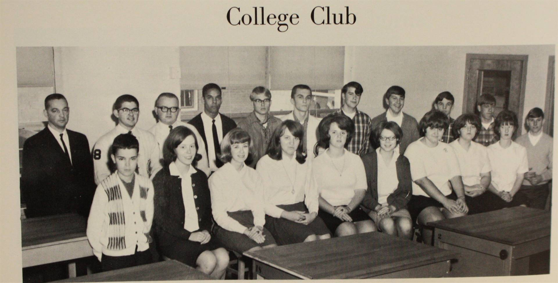 1967 College club