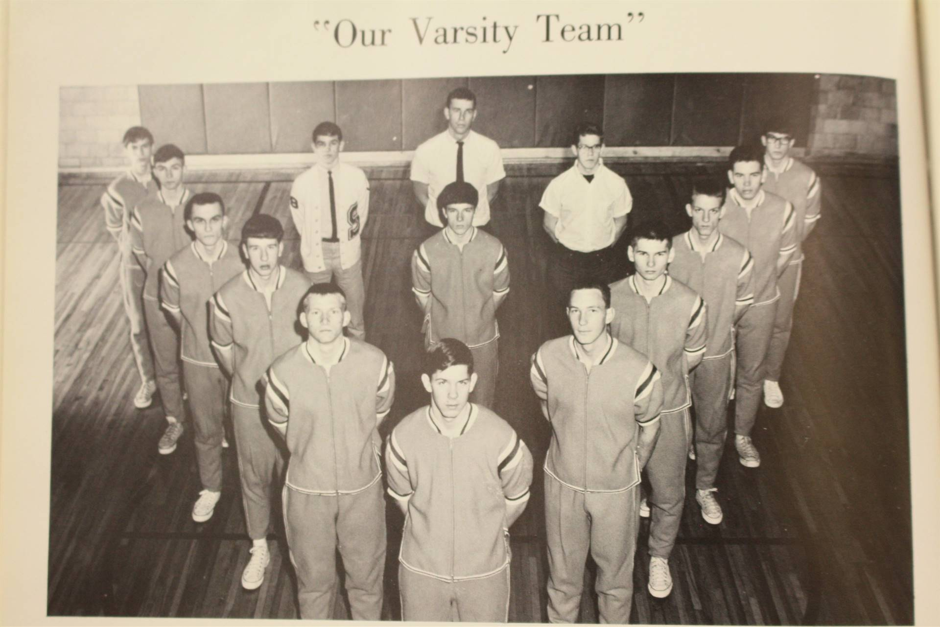 1967 Varsity Basketball Team