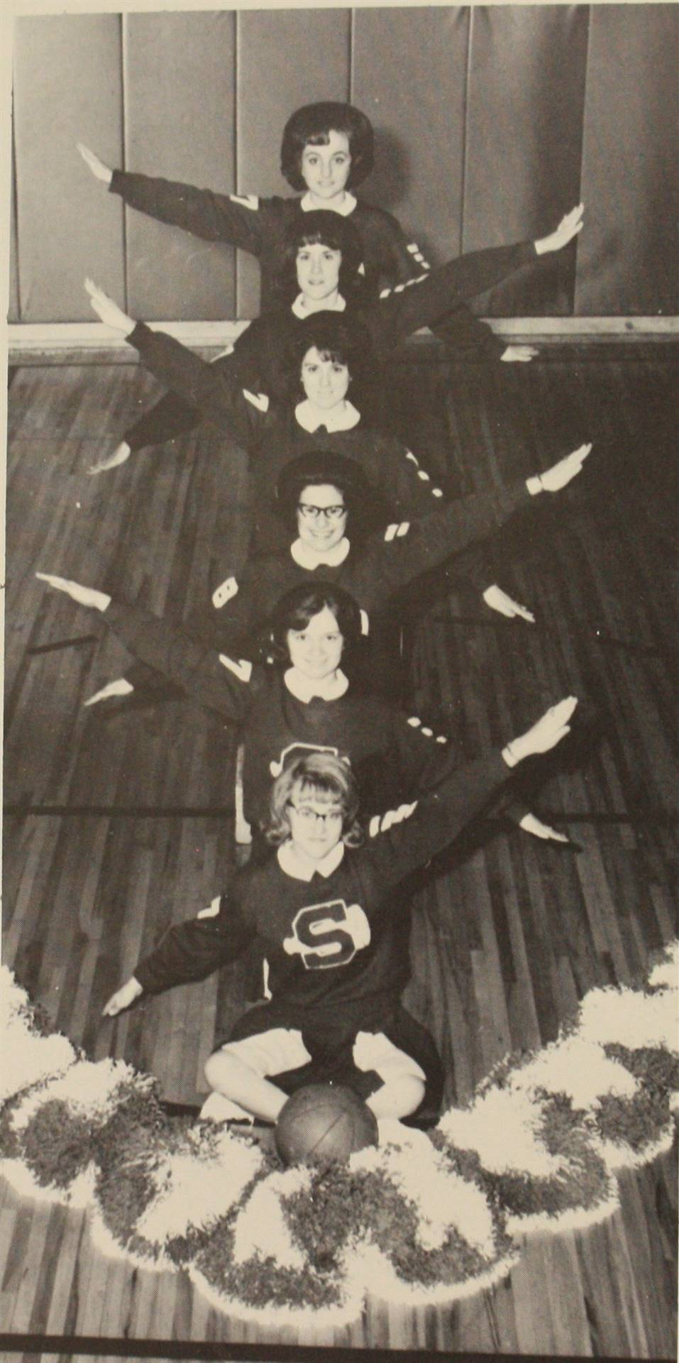 1967 Varsity Cheerleaders