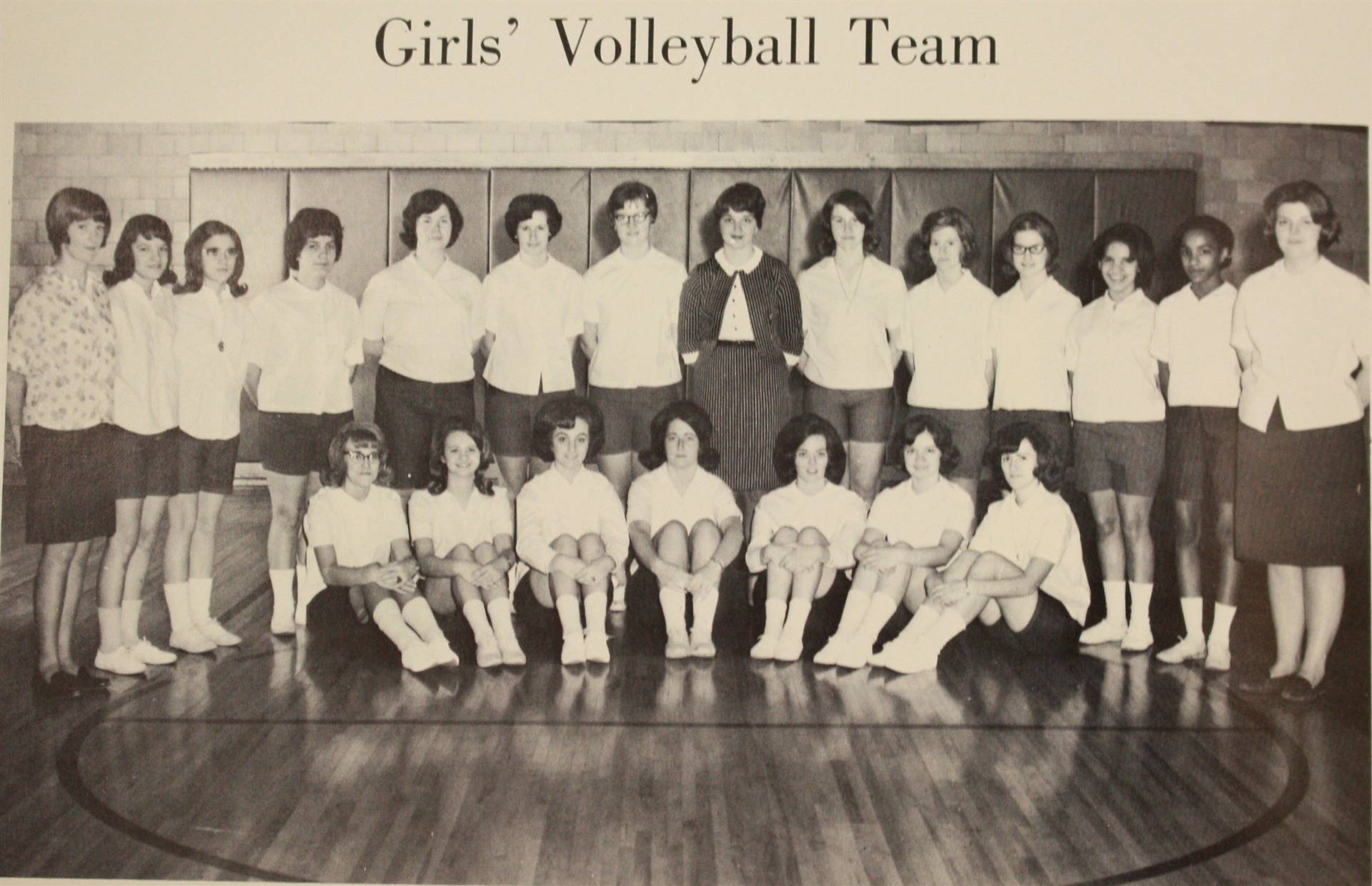 1967 Girls' Volleyball Team