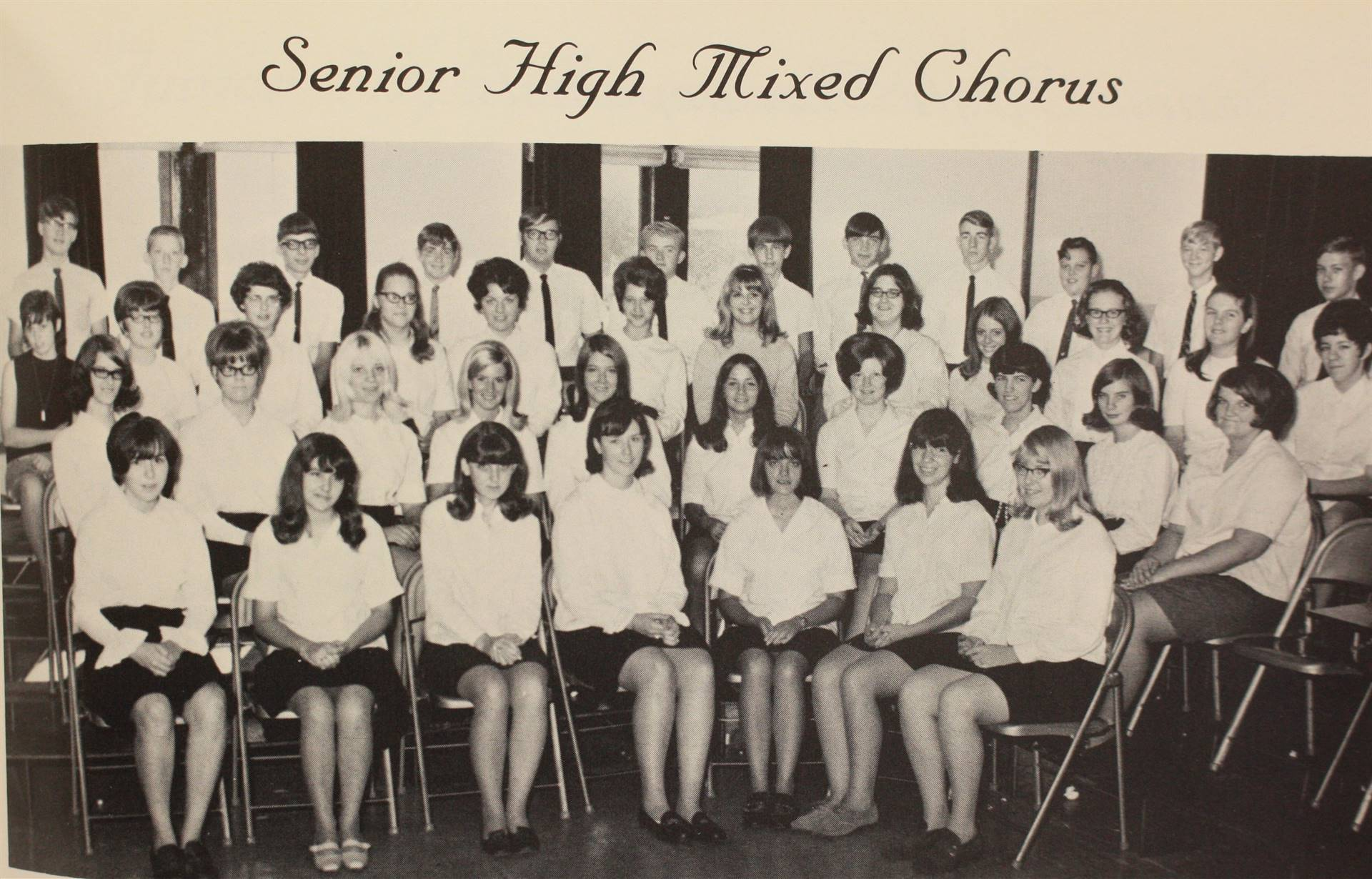 1970 Senior High Mixed Chorus