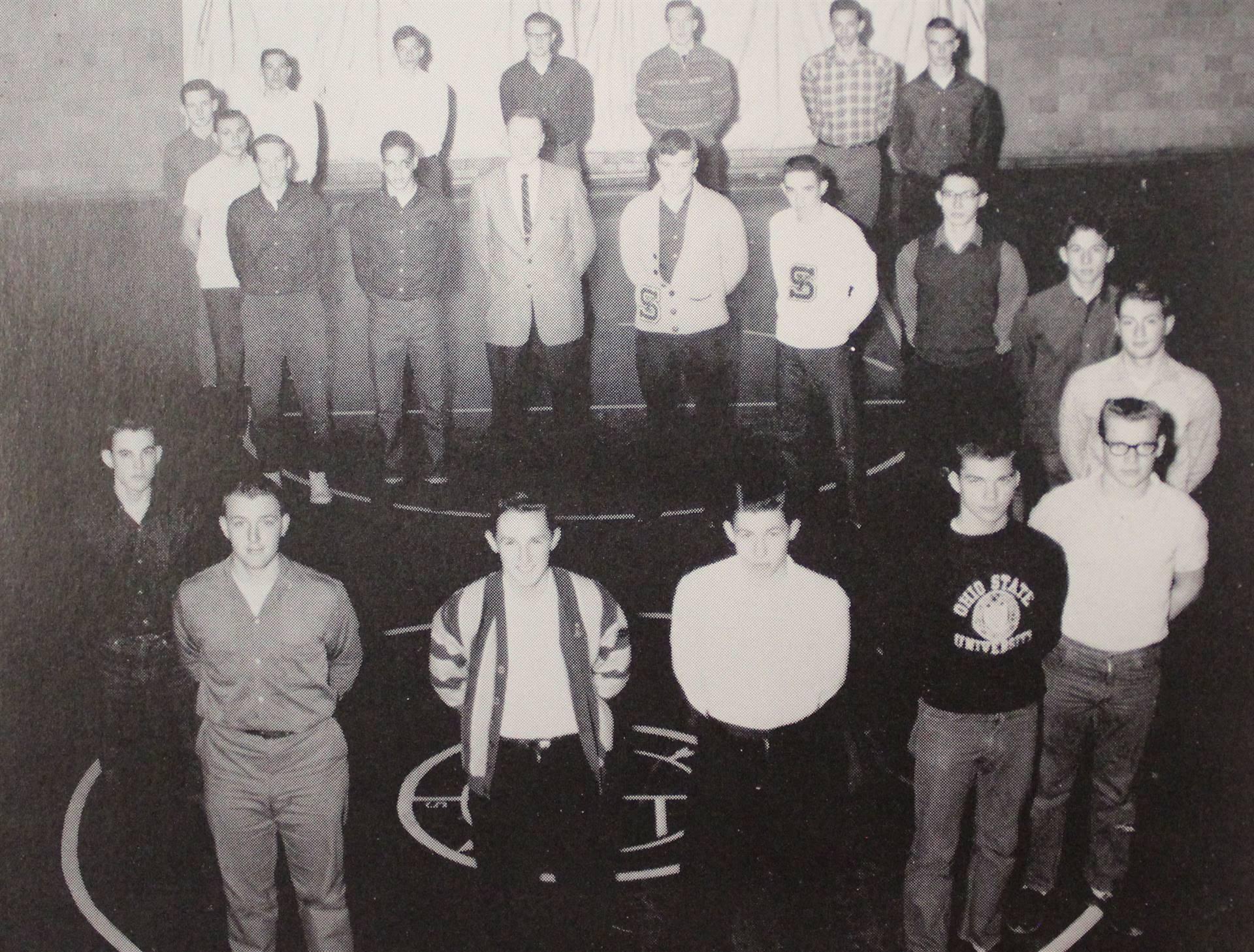 1963 Letterman's Club