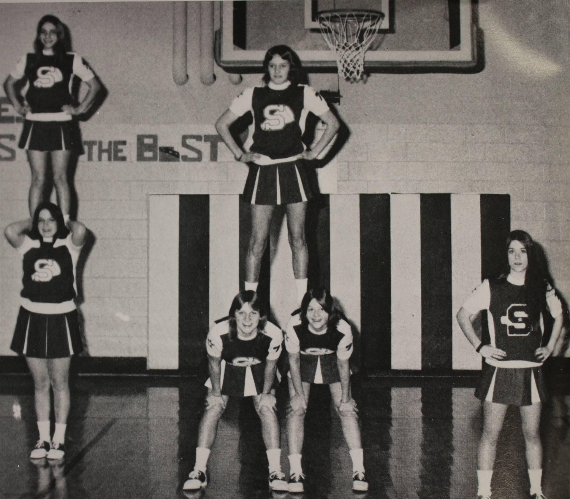 1975 Freshmen Cheerleaders